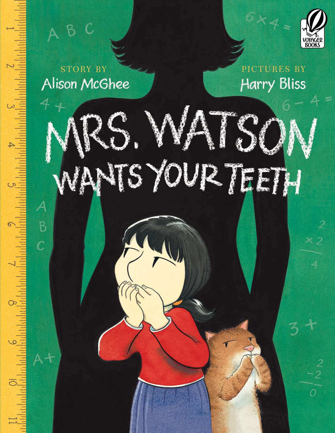 Mrs. Watson Wants Your Teeth-9780152063481
