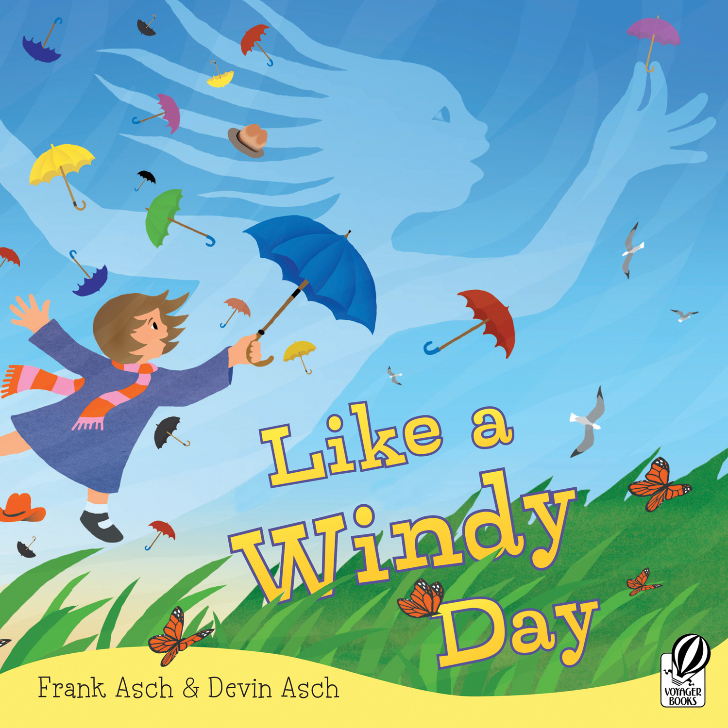 Like a Windy Day-9780152064037