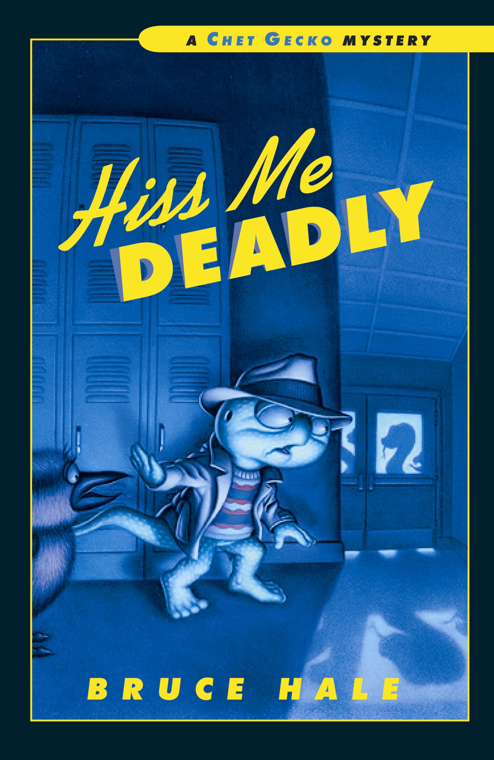 Hiss Me Deadly-9780152064242