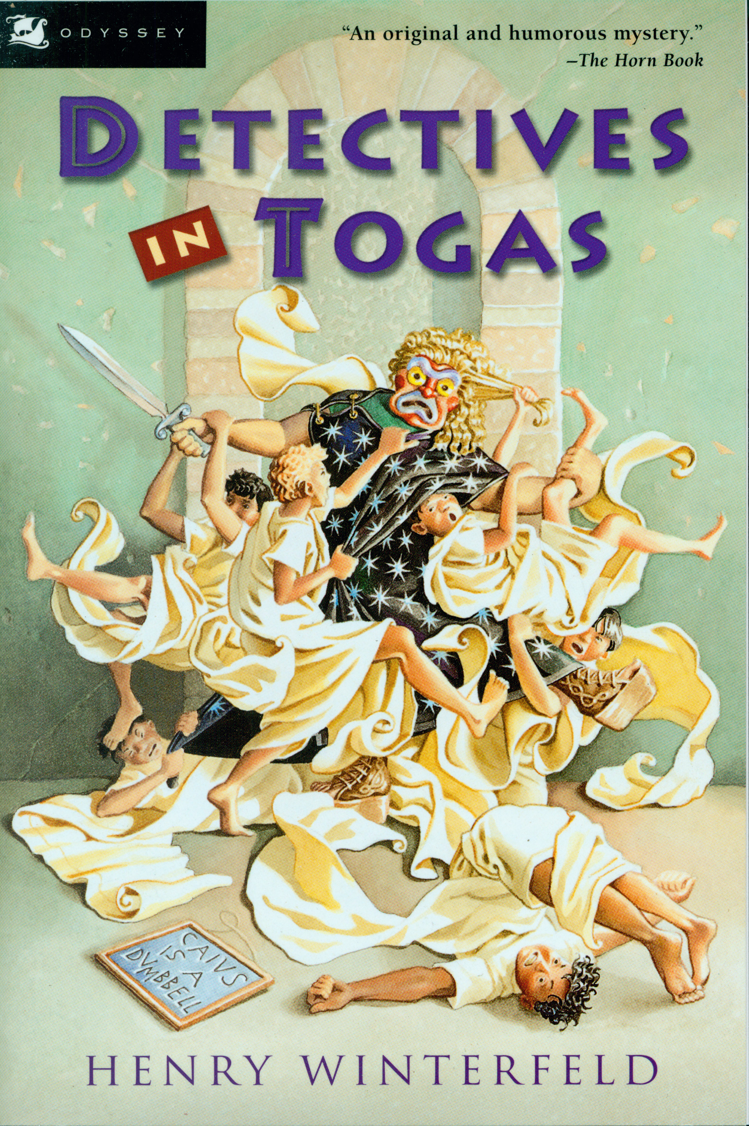 Detectives in Togas-9780152162801