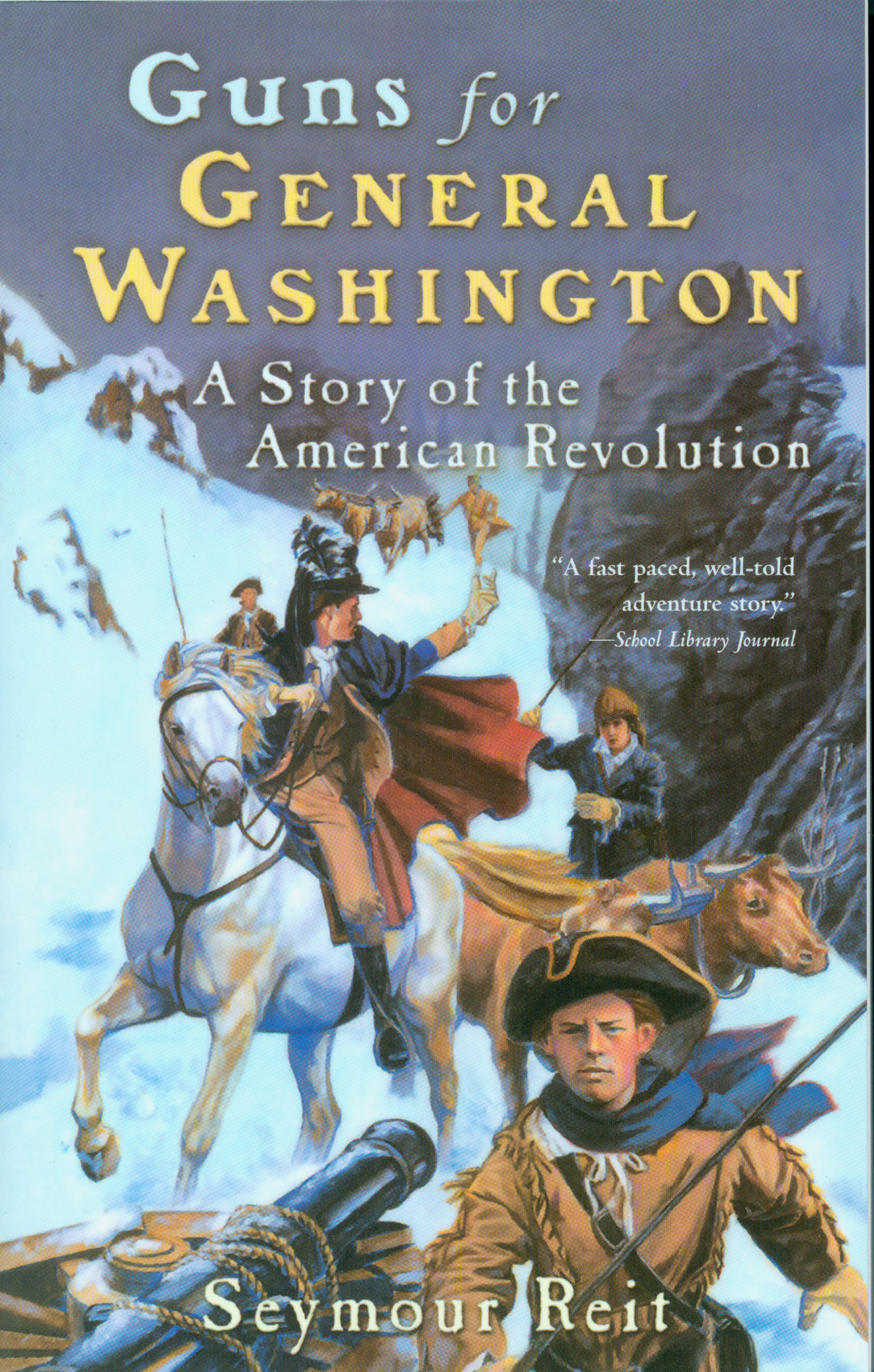 Guns for General Washington-9780152164355