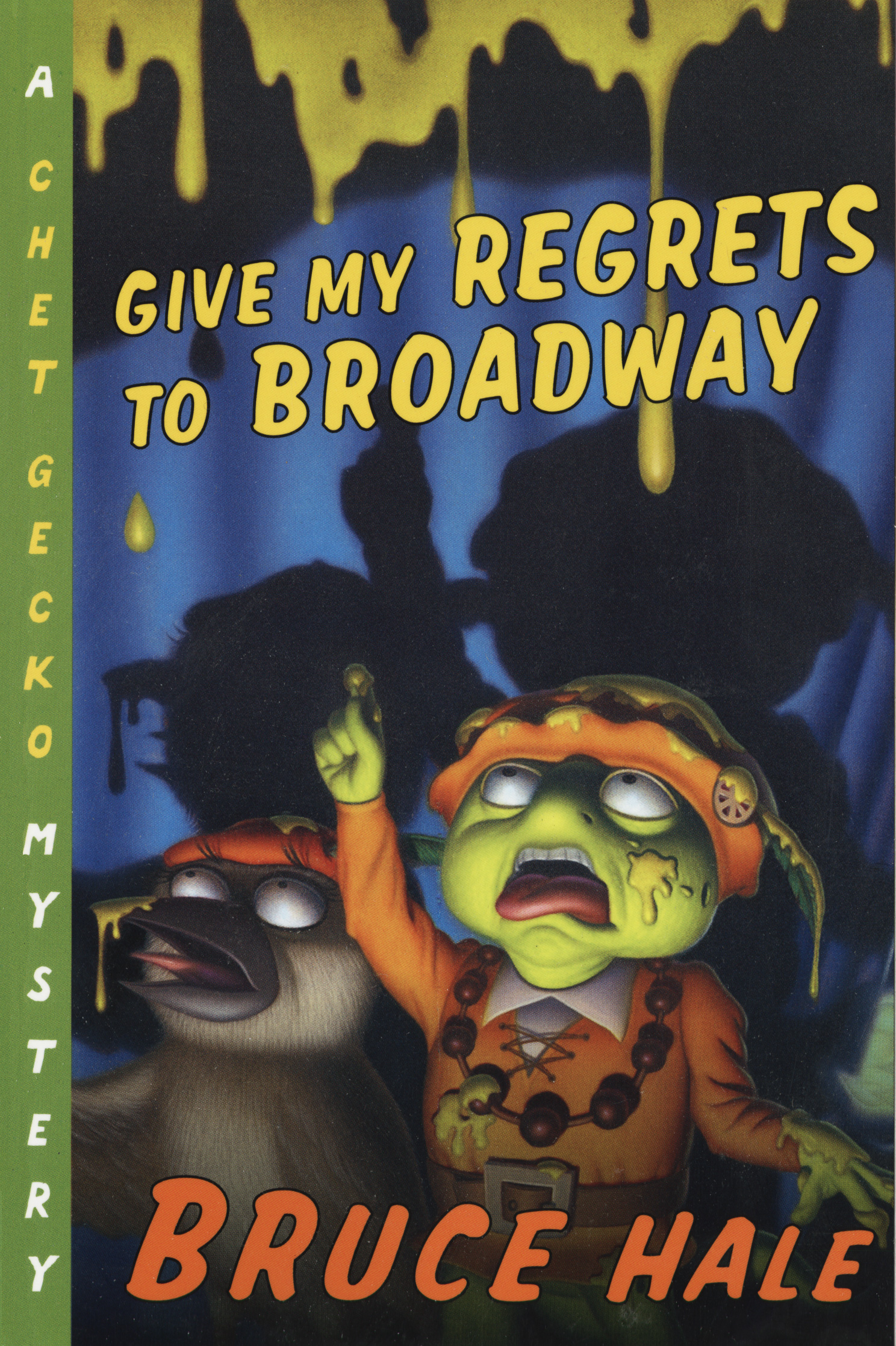 Give My Regrets to Broadway-9780152167301