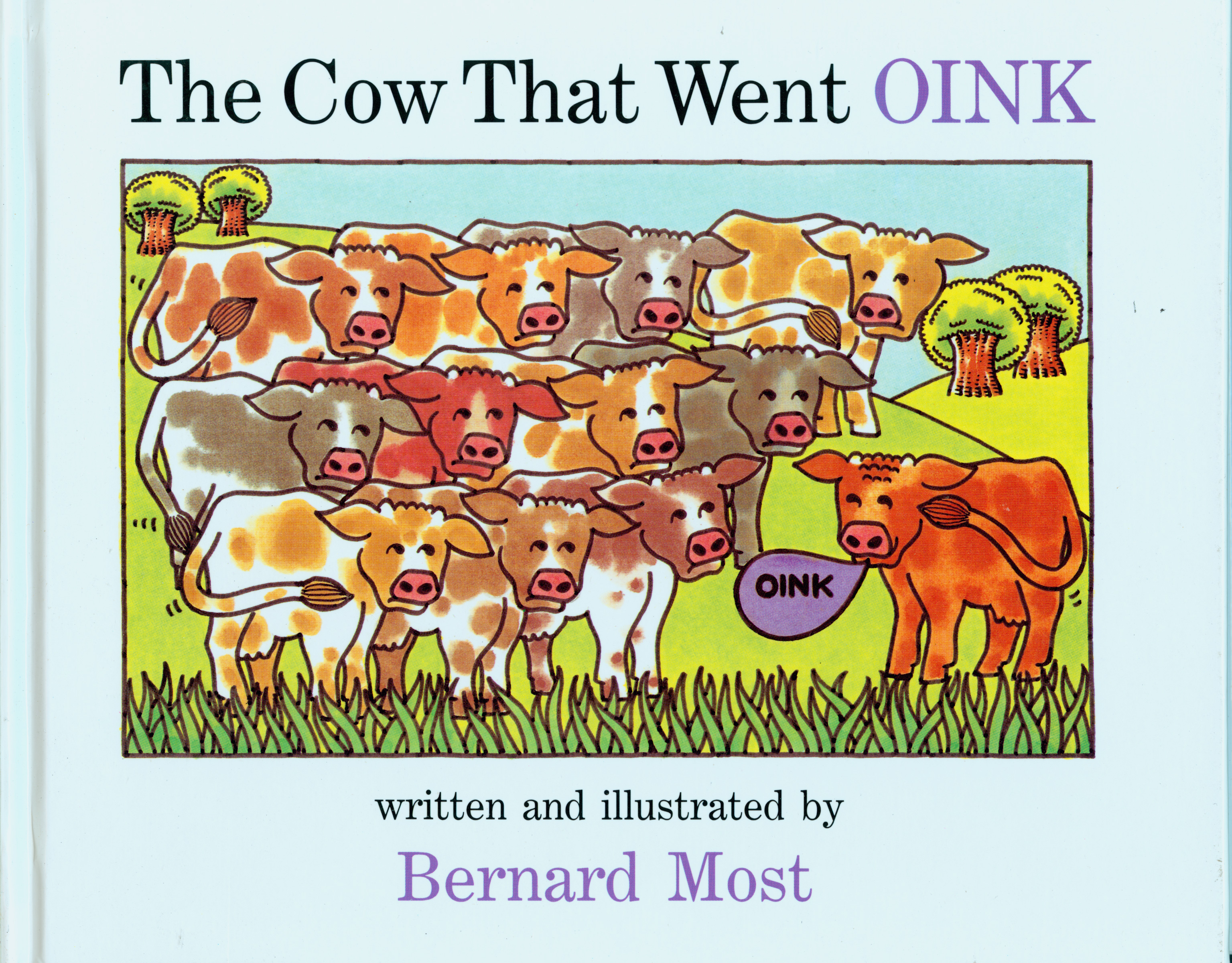The The Cow That Went OINK-9780152201968