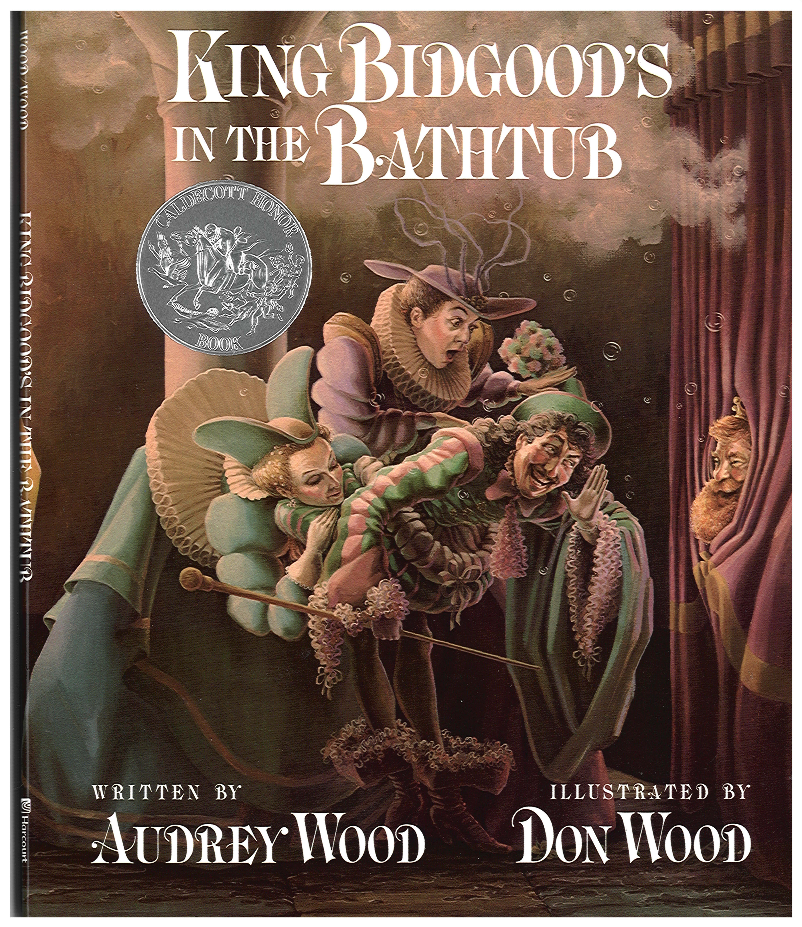 King Bidgood's in the Bathtub-9780152427306