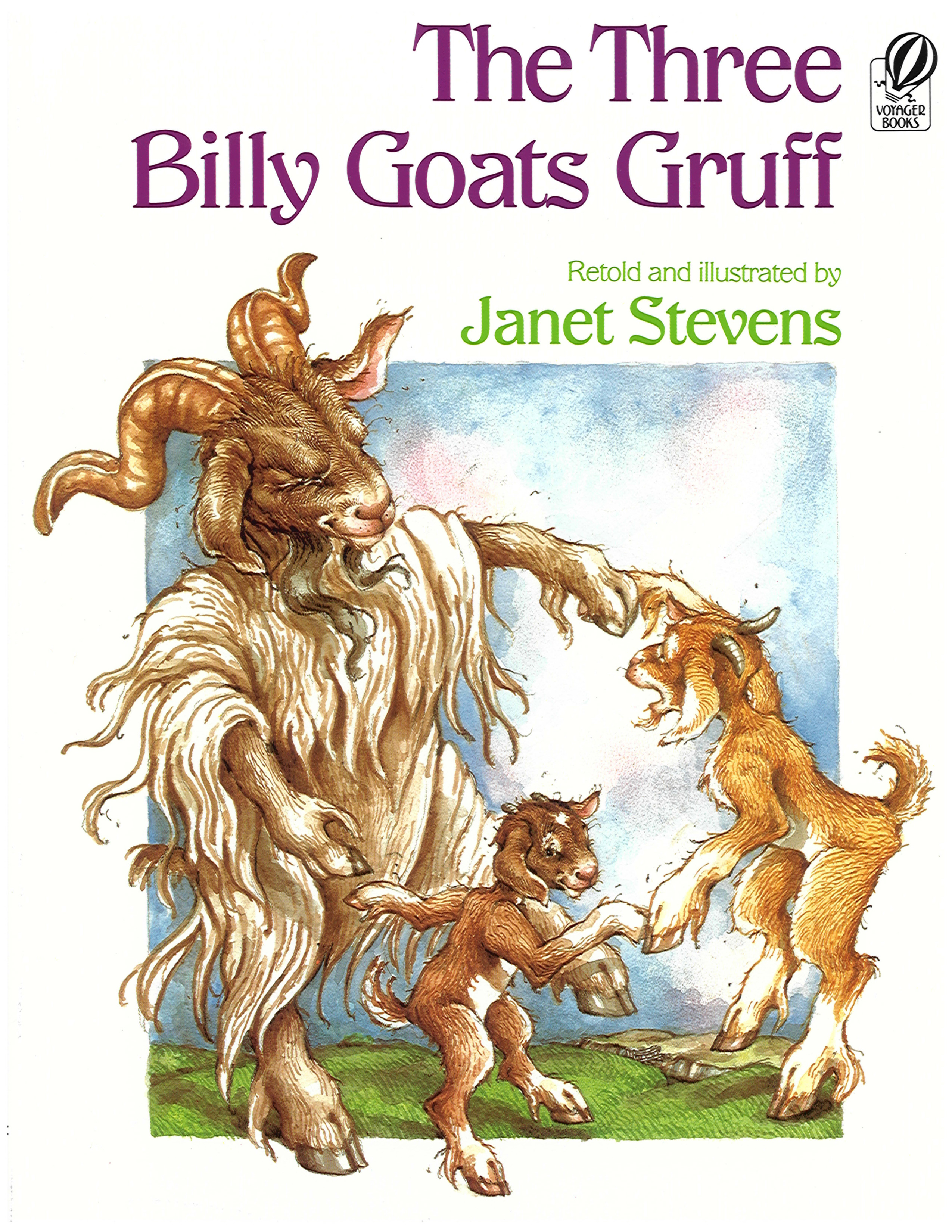 The Three Billy Goats Gruff-9780152863975