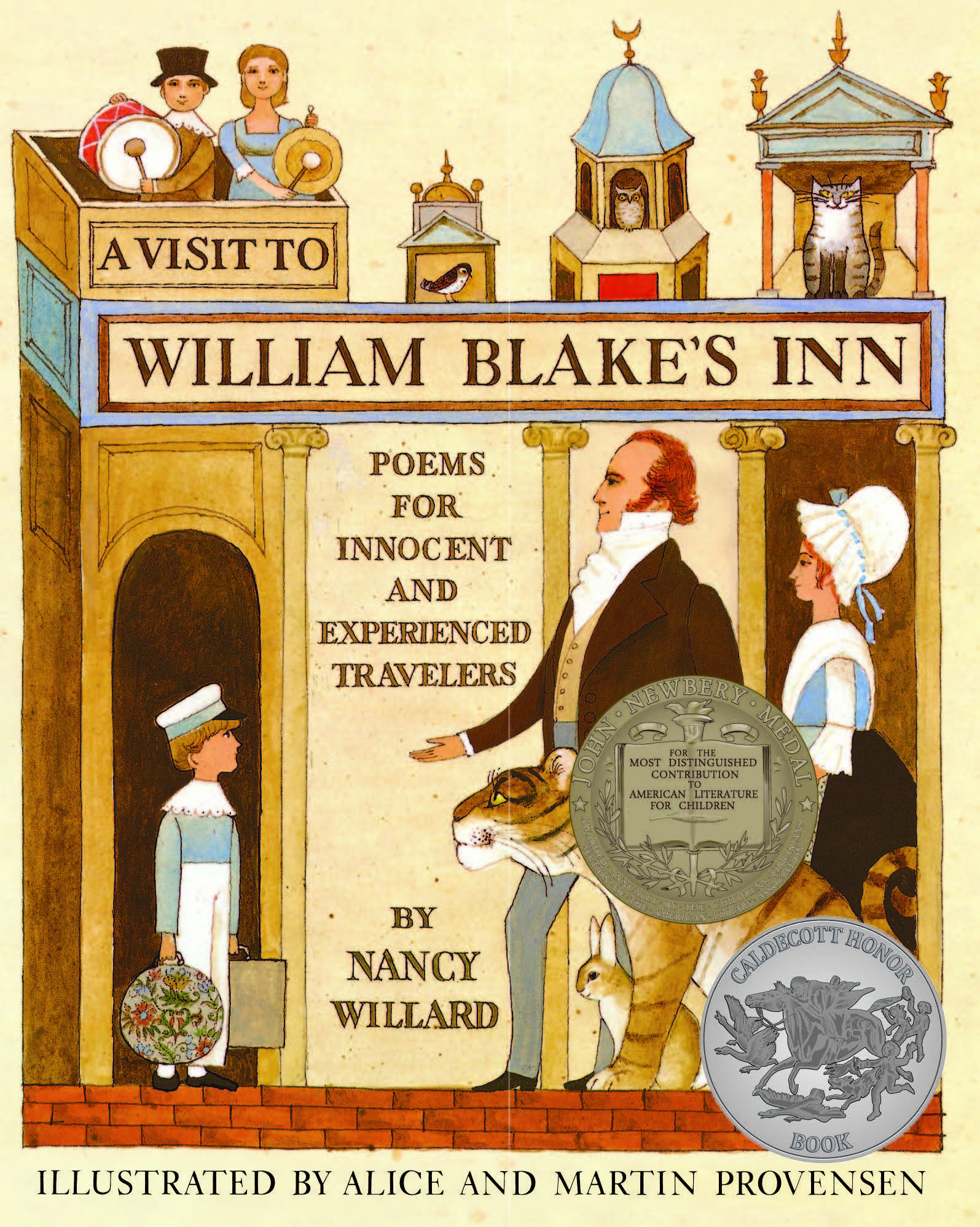 A Visit to William Blake's Inn-9780152938239