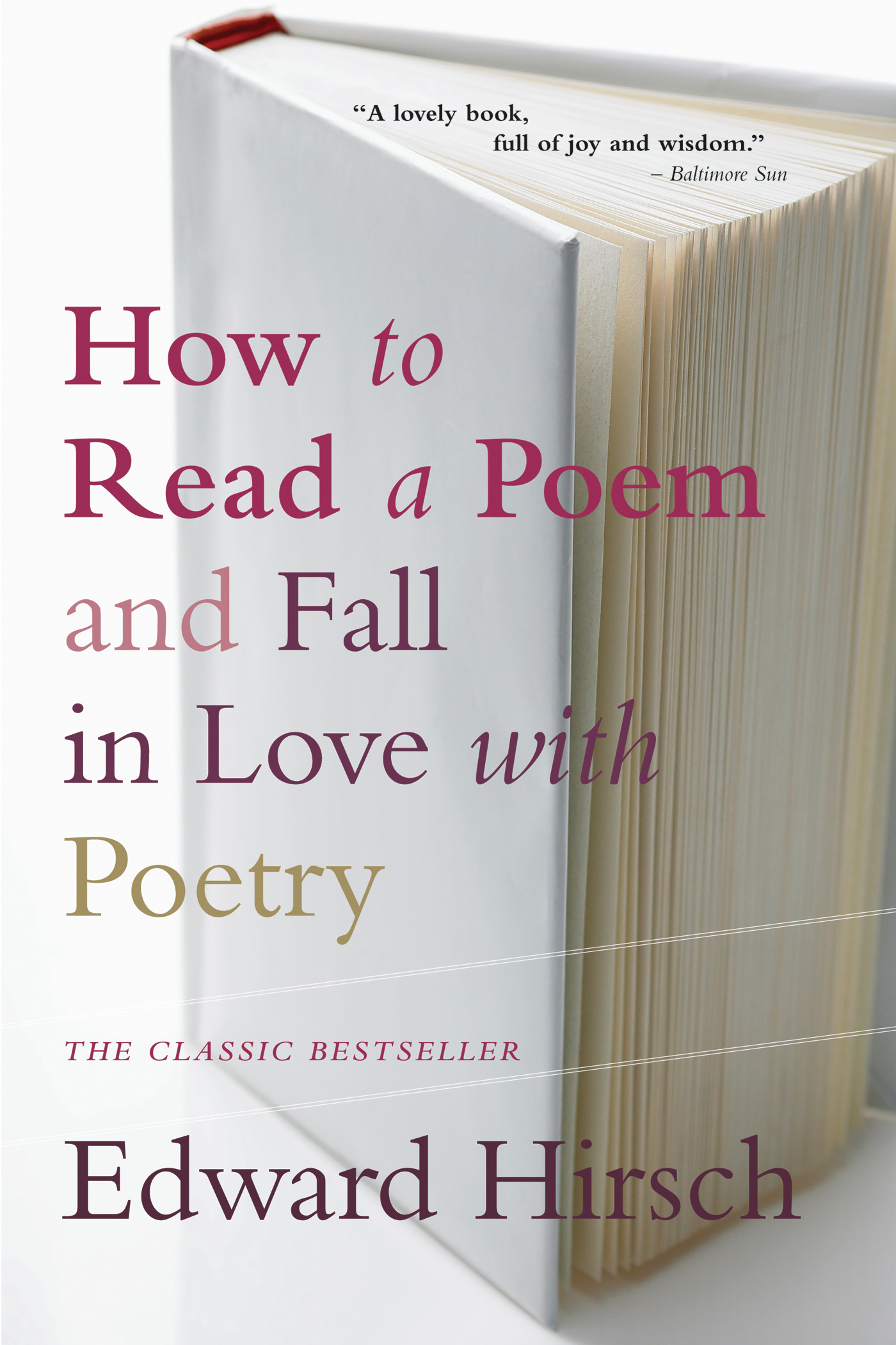 How to Read a Poem-9780156005661