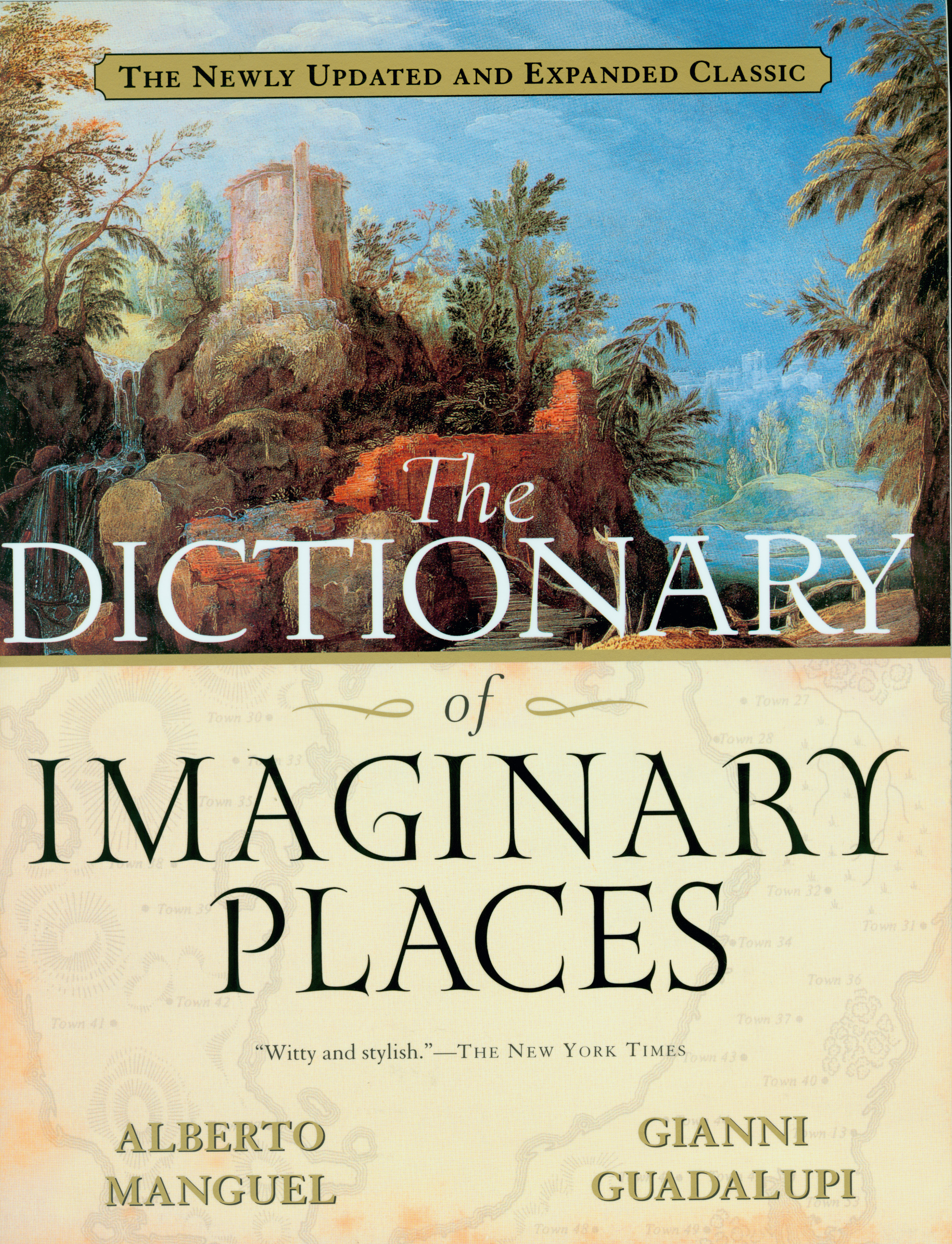 The Dictionary of Imaginary Places-9780156008723