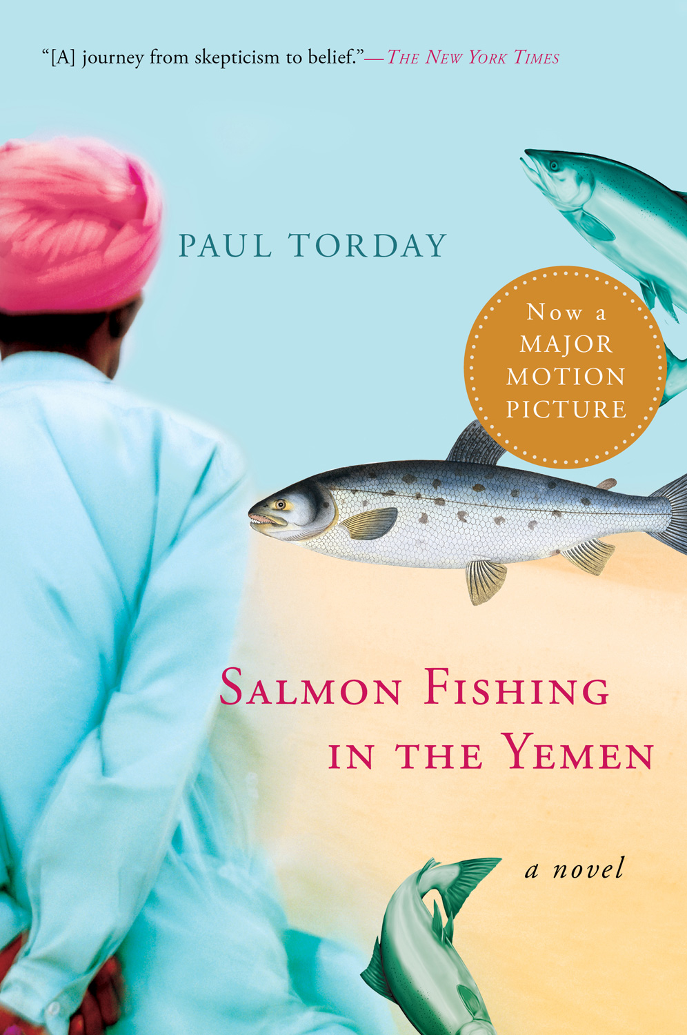 Salmon Fishing in the Yemen-9780156034562