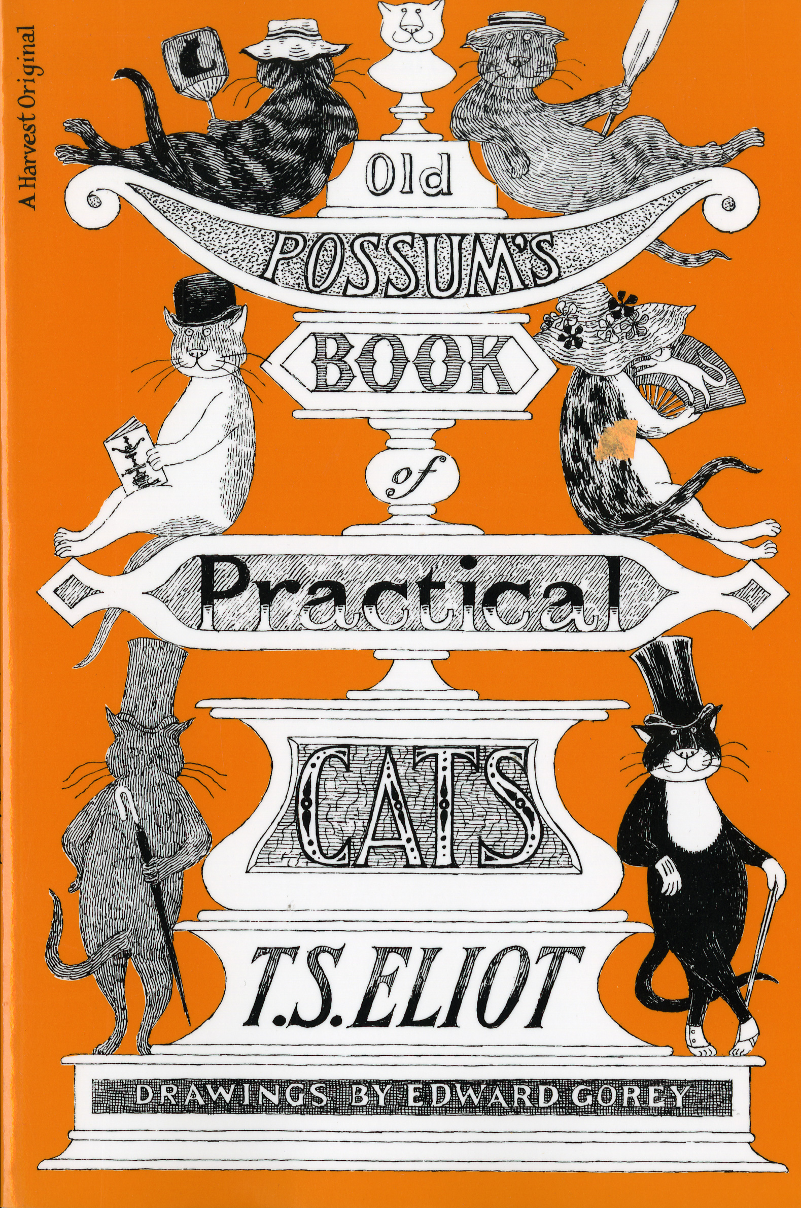 Old Possum's Book of Practical Cats, Illustrated Edition-9780156685689