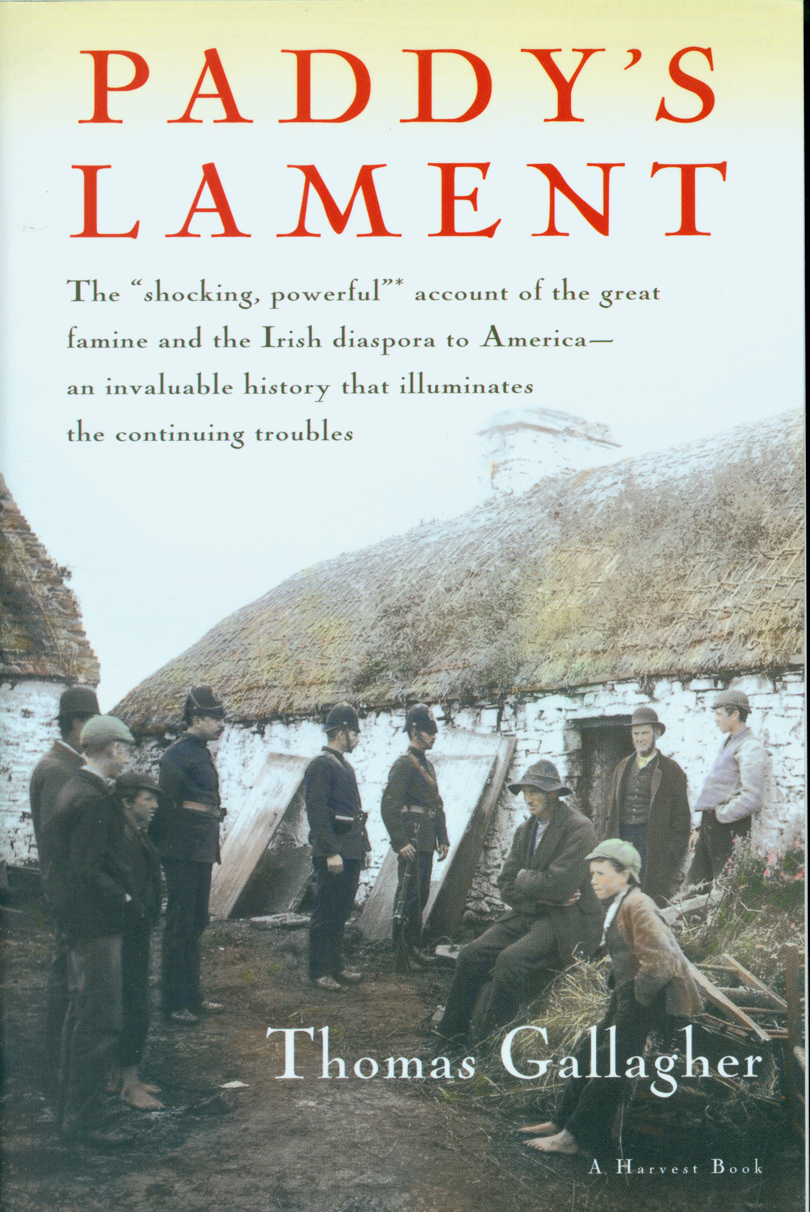 Paddy's Lament, Ireland 1846-1847-9780156707008
