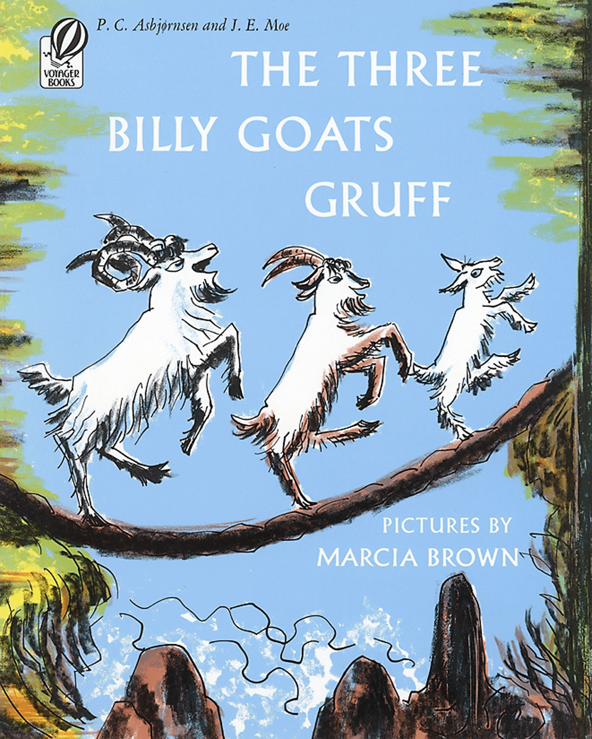 The Three Billy Goats Gruff-9780156901505