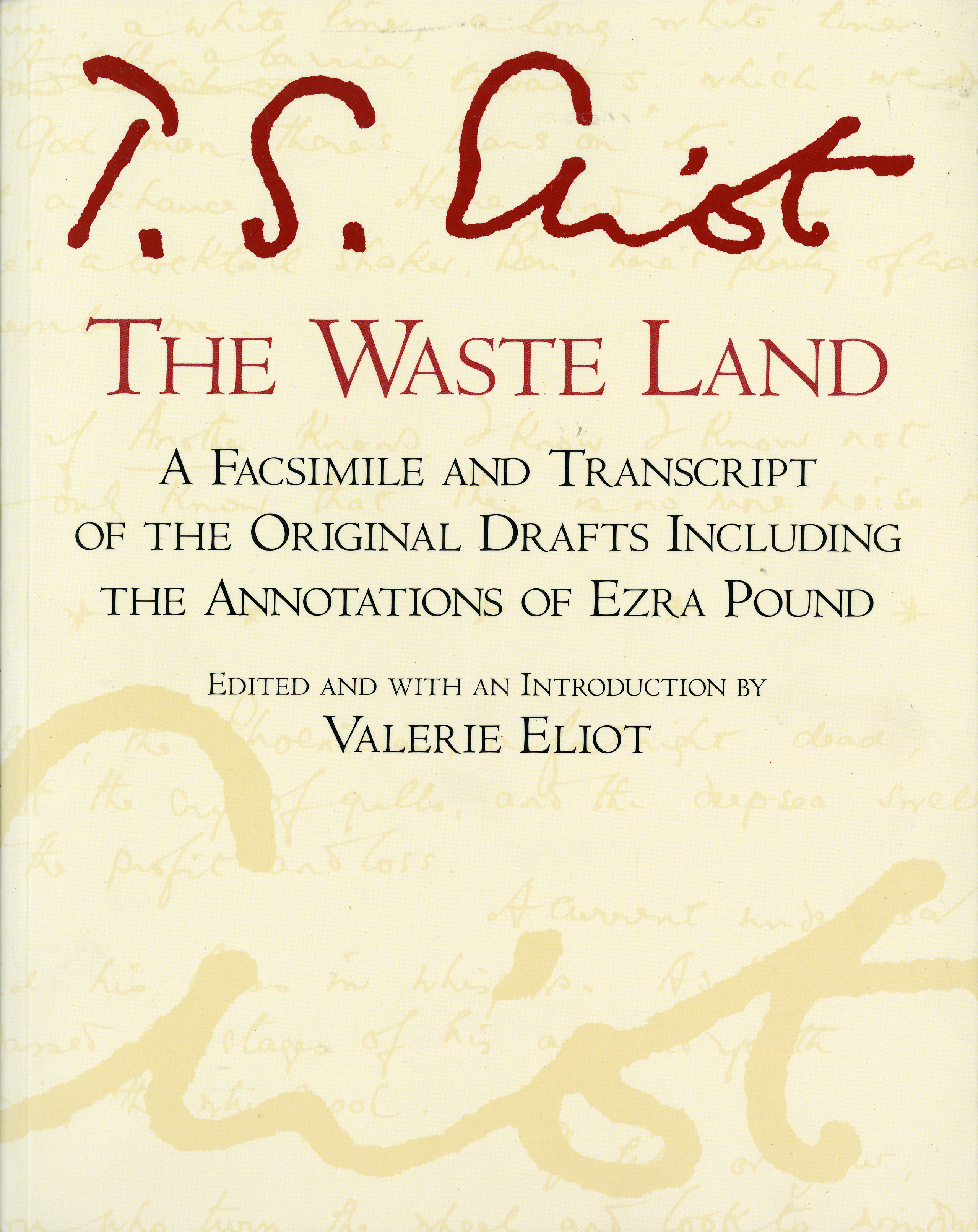 The Waste Land-9780156948708