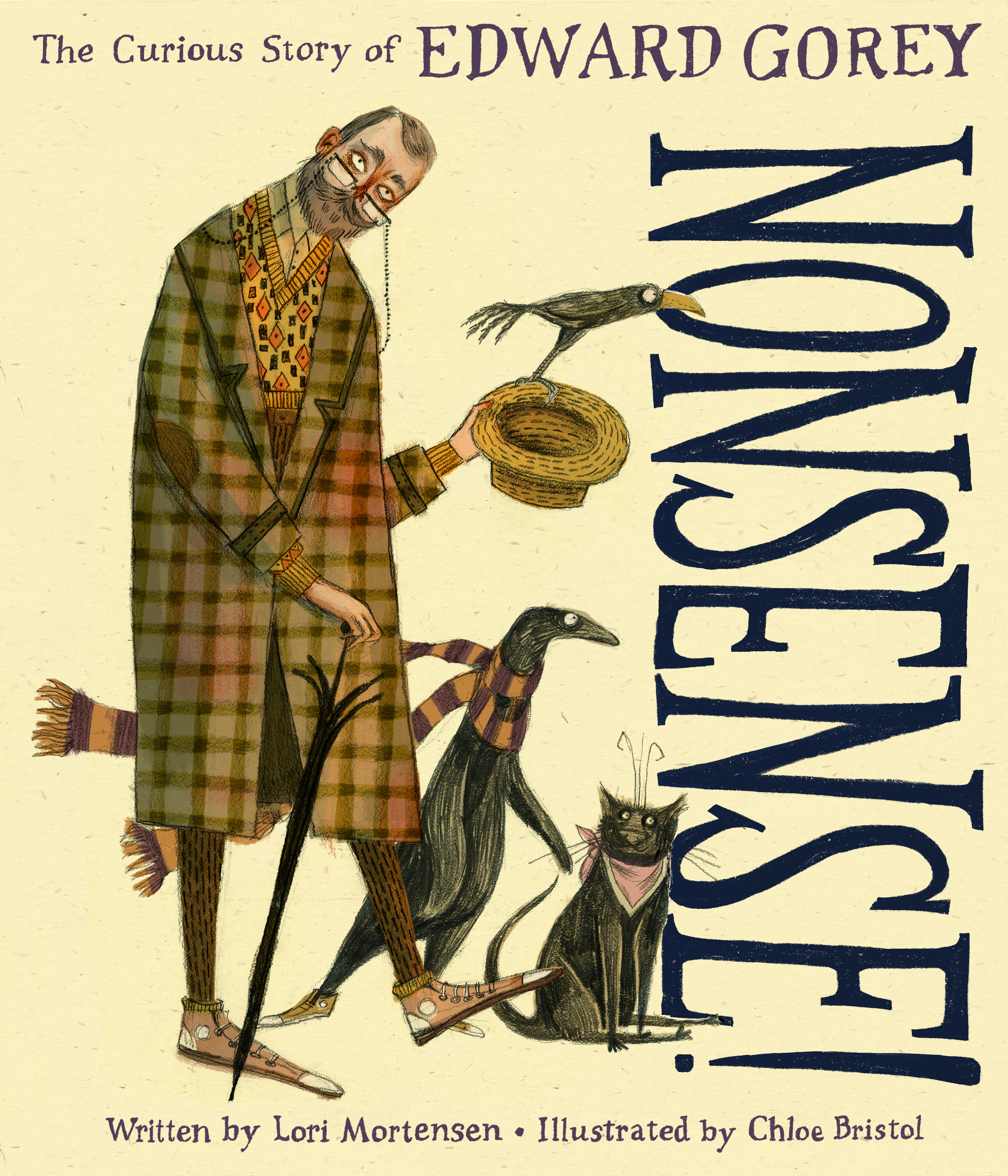 Nonsense! The Curious Story of Edward Gorey-9780358033684