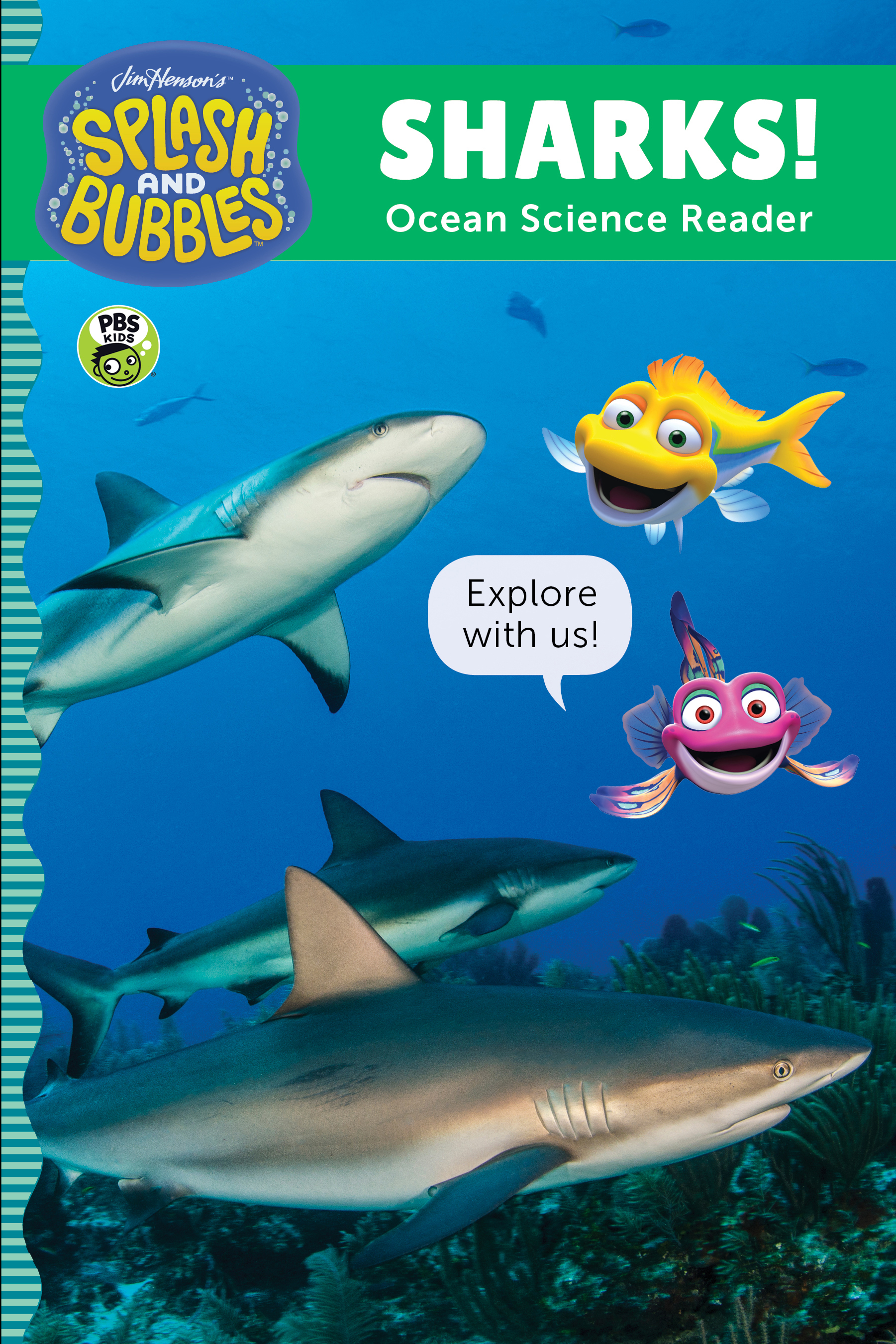 Splash and Bubbles: Sharks!-9780358056096