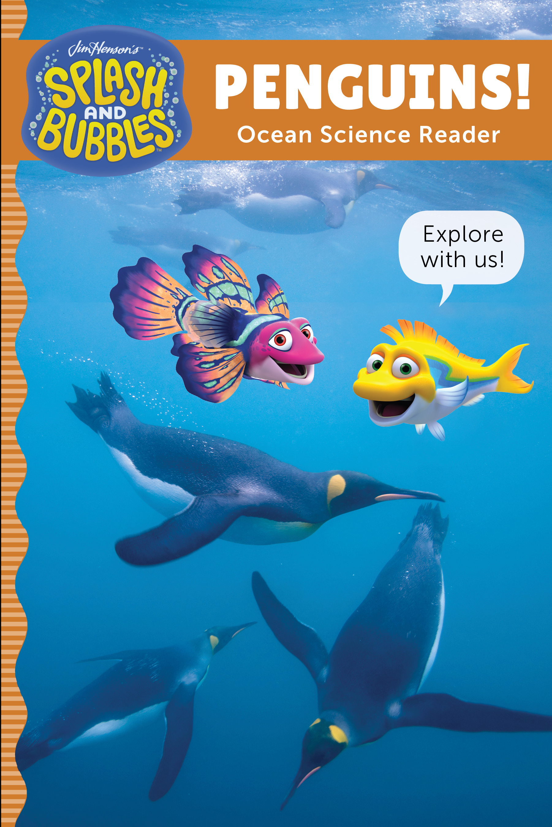 Splash and Bubbles: Penguins!-9780358056119