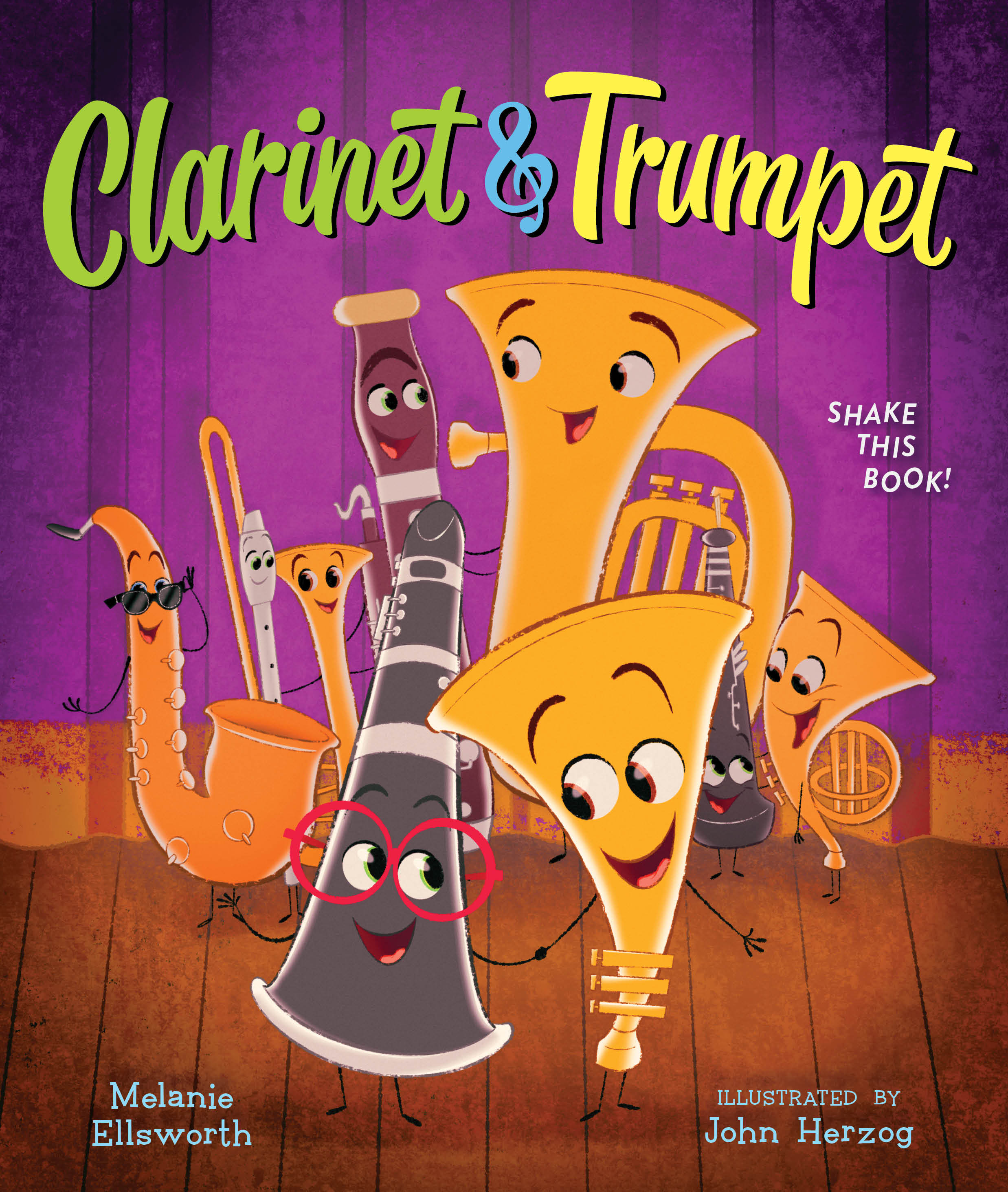 Clarinet and Trumpet (book with shaker)-9780358107477