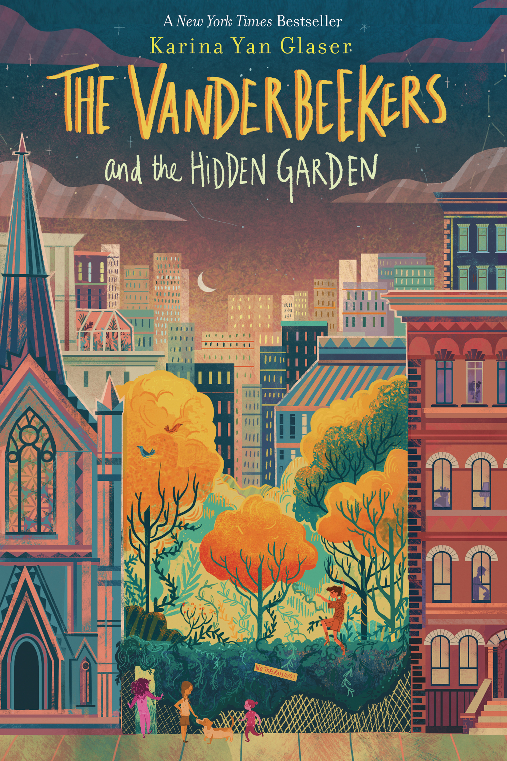 The Vanderbeekers and the Hidden Garden-9780358117346