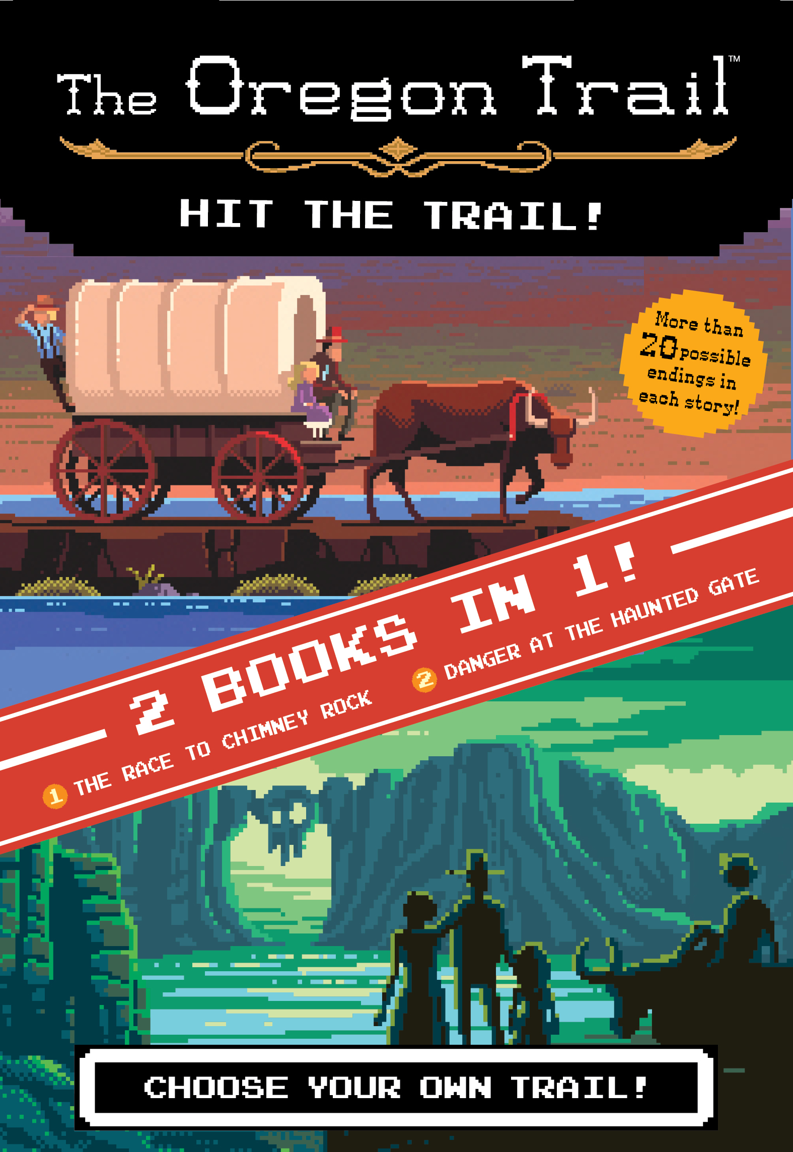 The Hit the Trail! (Two Books in One)-9780358117889