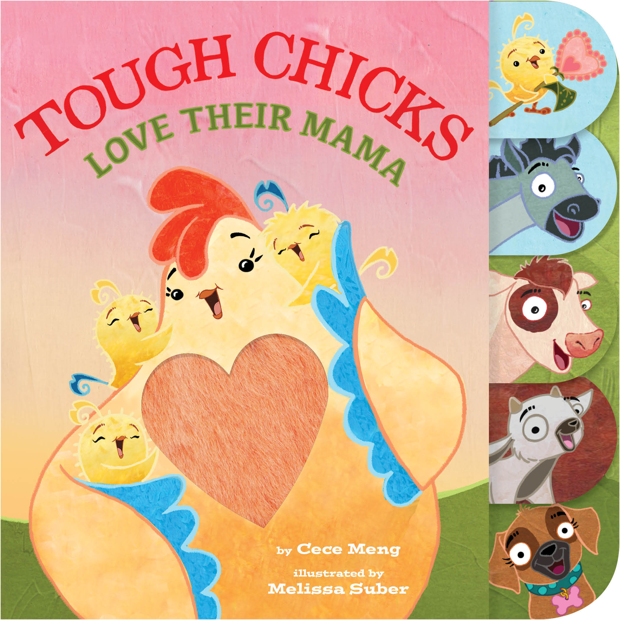 Tough Chicks Love Their Mama (tabbed touch-and-feel)-9780358126539