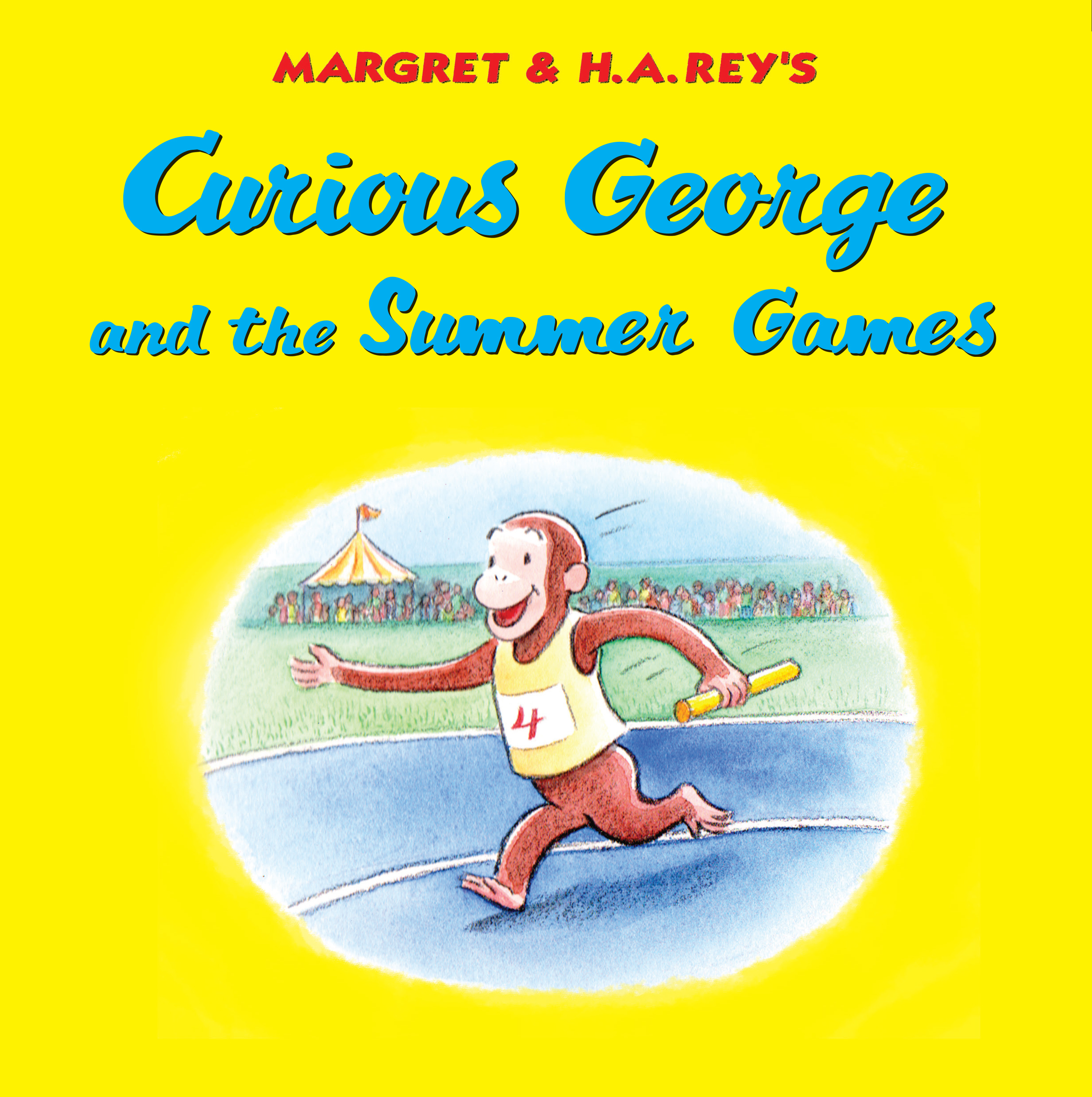 Curious George and the Summer Games-9780358164104