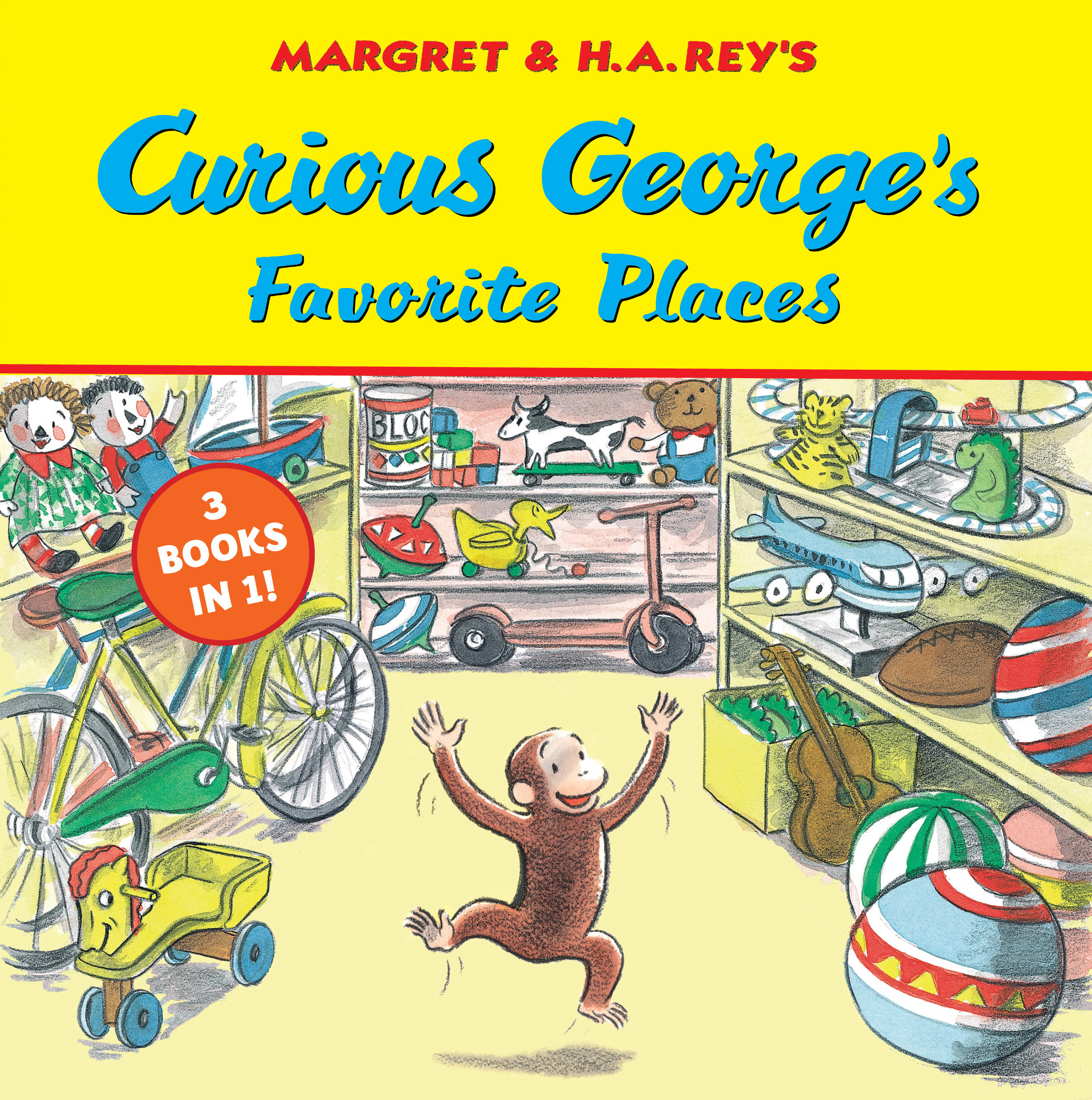 Curious George's Favorite Places-9780358169024