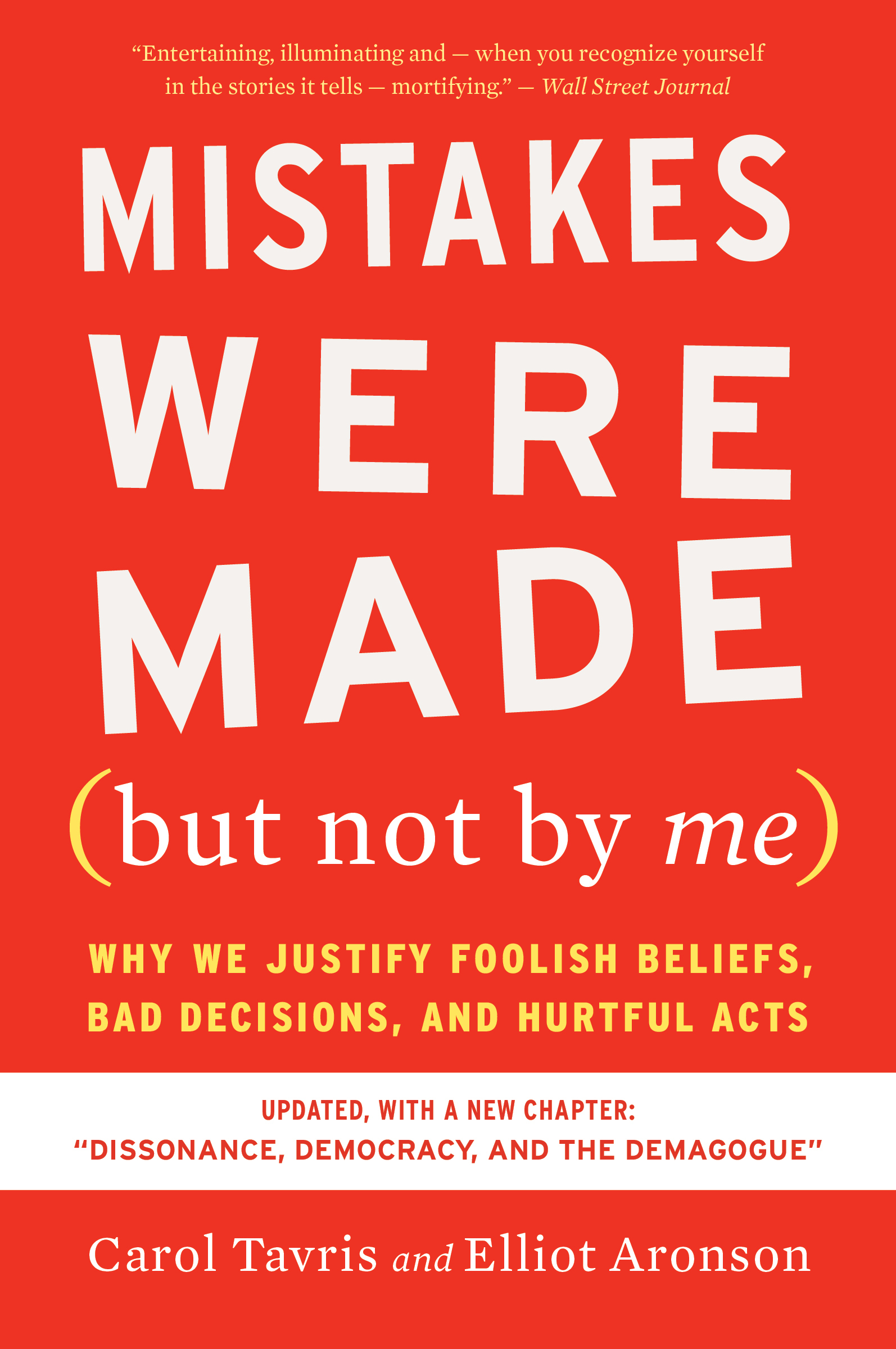 Mistakes Were Made (but Not by Me) Third Edition-9780358329619