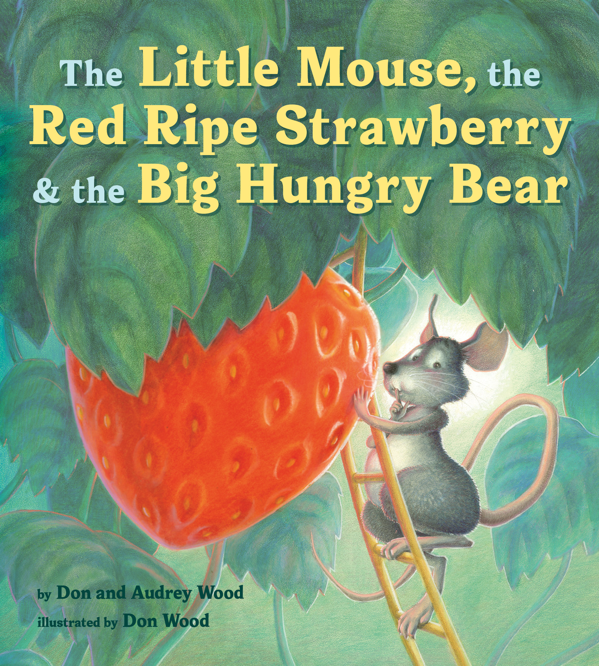 The Little Mouse, the Red Ripe Strawberry, and the Big Hungry Bear-9780358362616