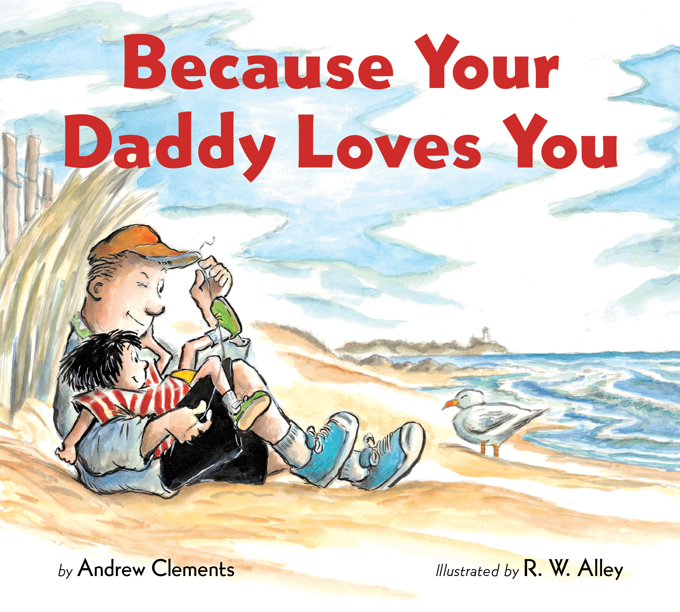 Because Your Daddy Loves You (board book)-9780358452102
