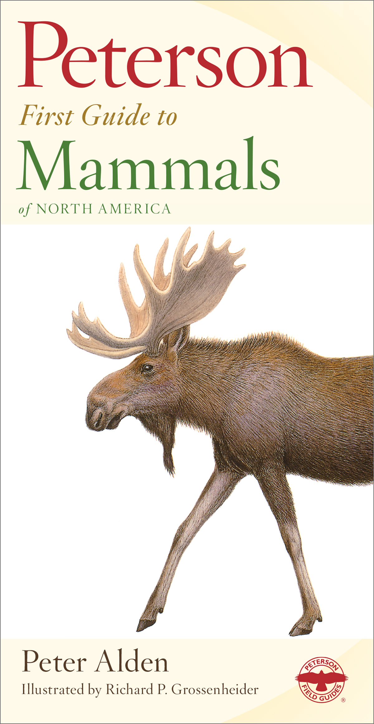 Peterson First Guide to Mammals of North America-9780395911815