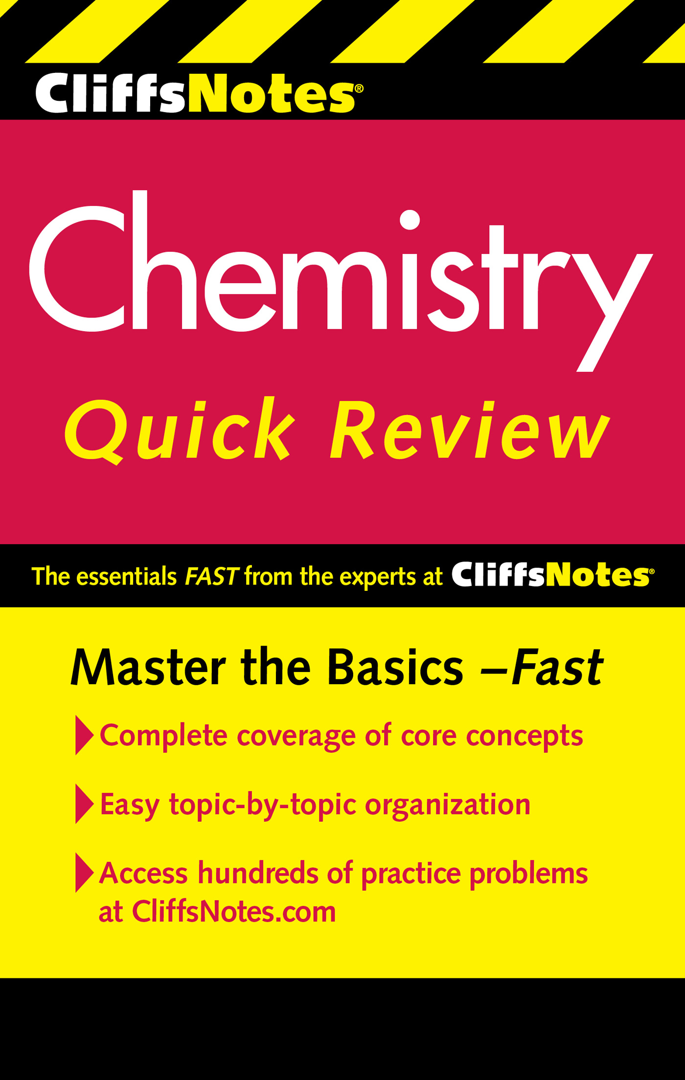 CliffsNotes Chemistry Quick Review, 2nd Edition-9780470905432