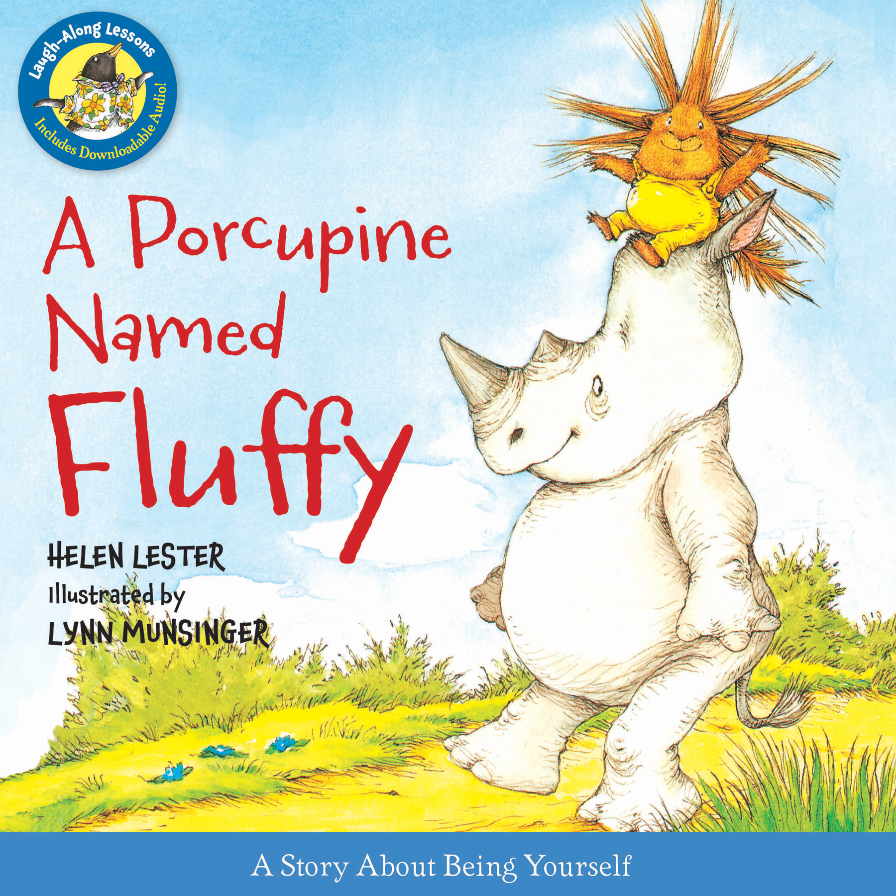 A Porcupine Named Fluffy-9780544003194