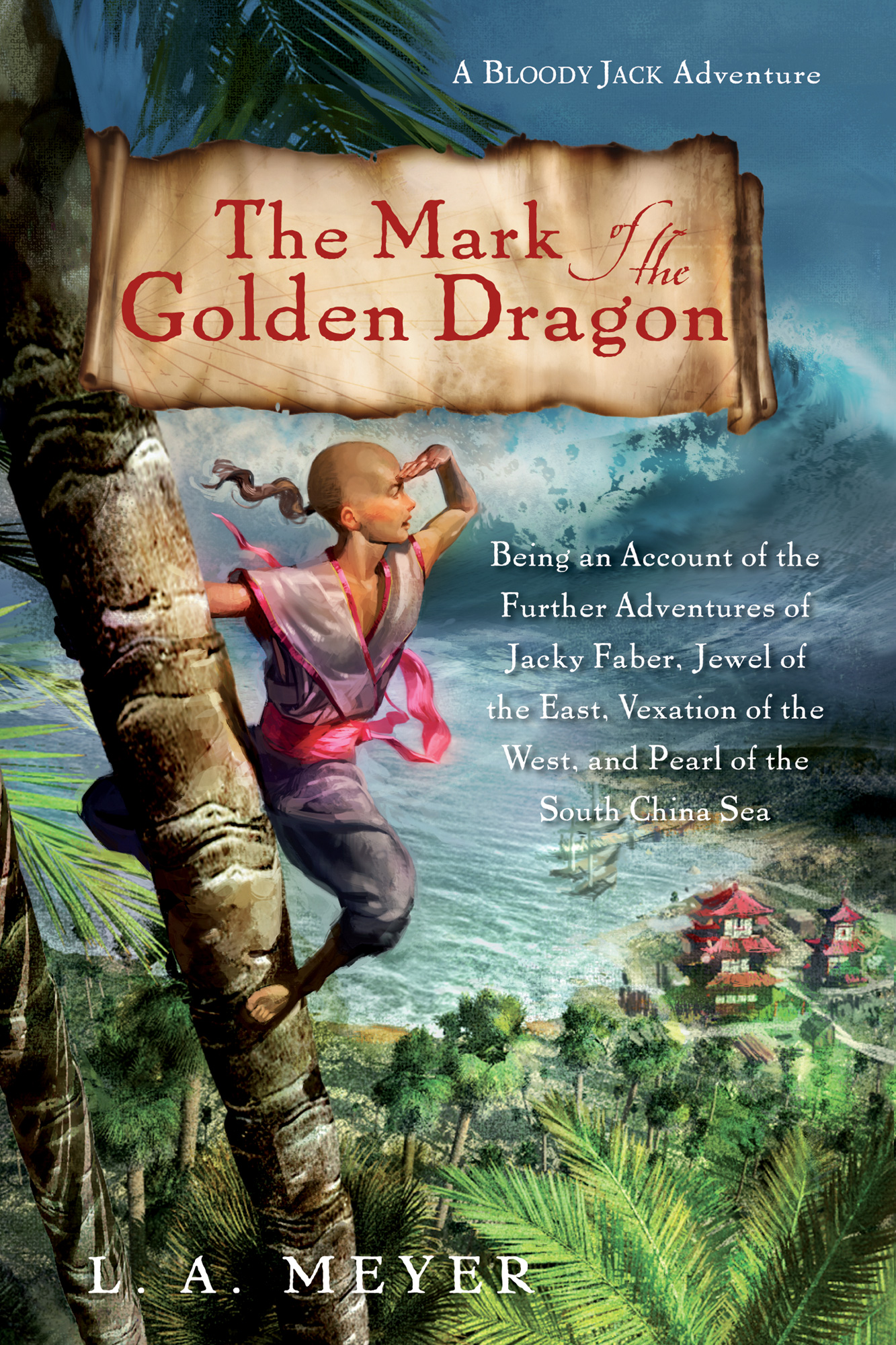 The Mark of the Golden Dragon-9780544003286