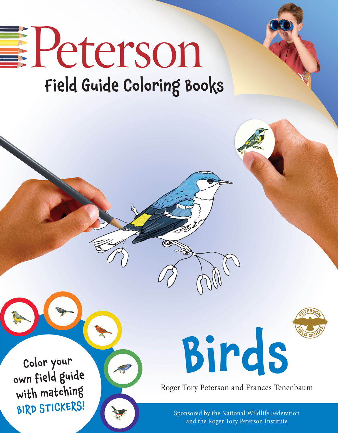 Peterson Field Guide Coloring Books: Birds-9780544026926