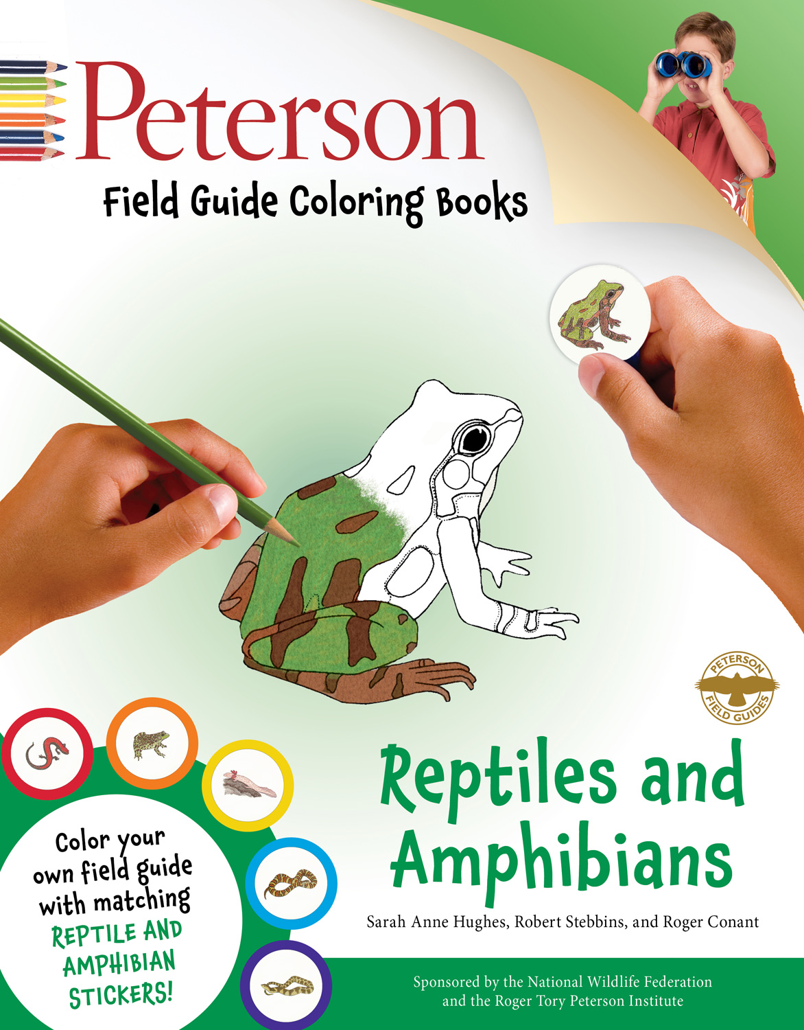 Peterson Field Guide Coloring Books: Reptiles and Amphibians-9780544026957