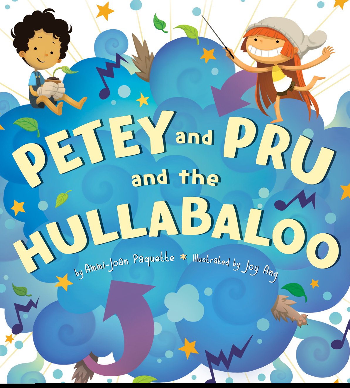 Petey and Pru and the Hullabaloo-9780544038882