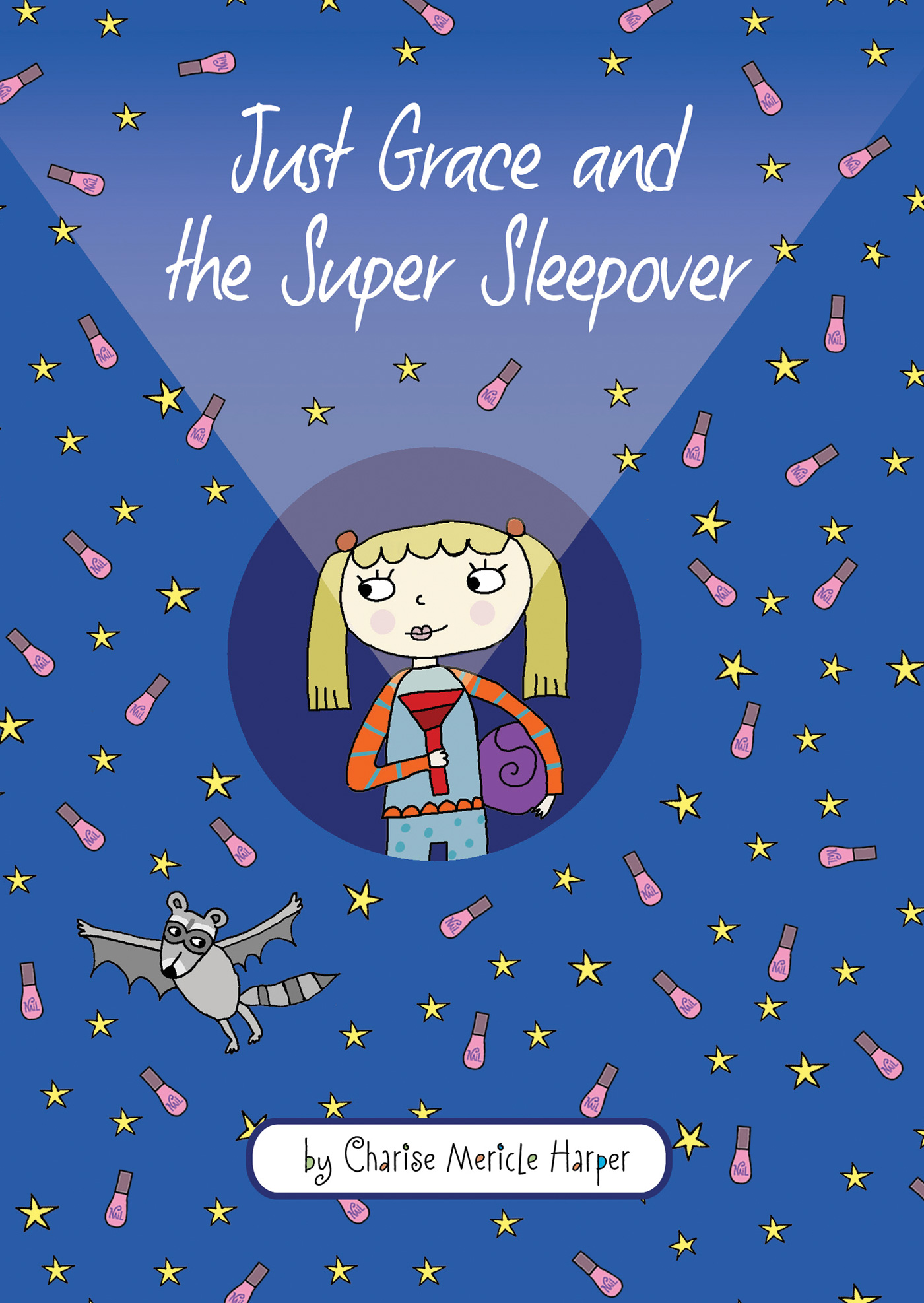 Just Grace and the Super Sleepover-9780544045842