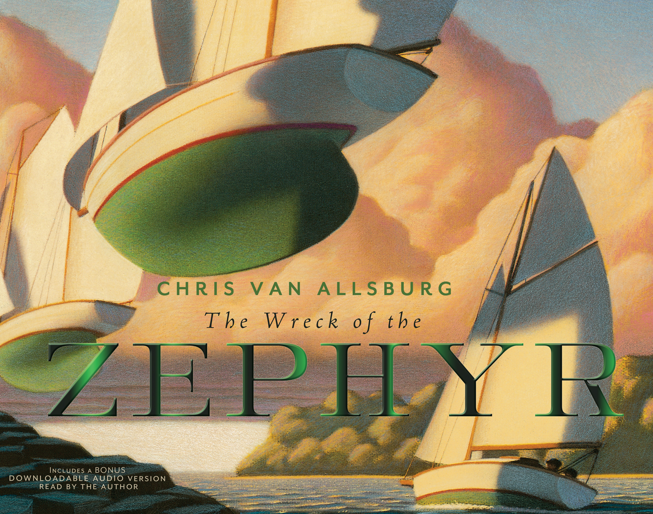 The Wreck of the Zephyr 30th Anniversary Edition-9780544050051