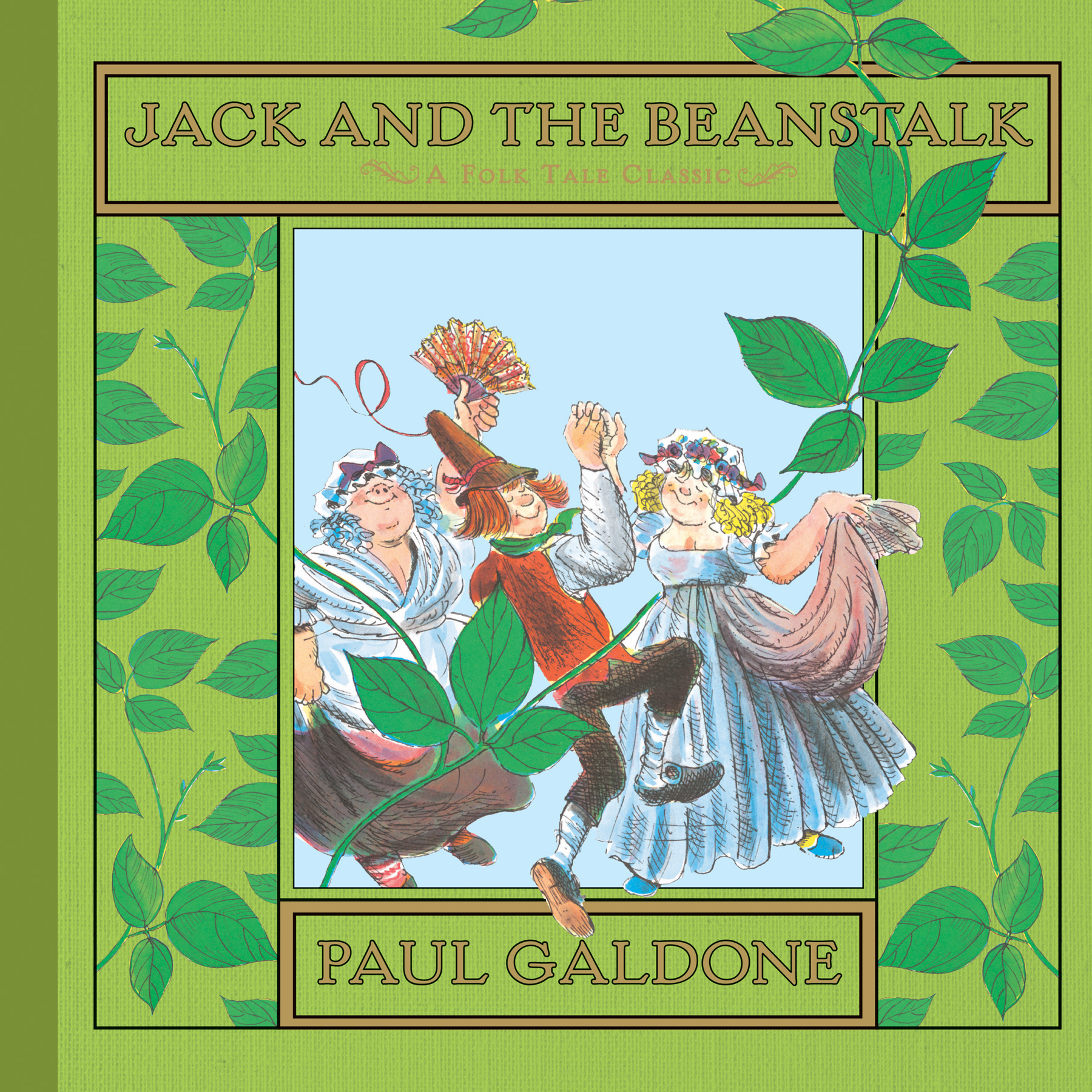 Jack and the Beanstalk-9780544066656