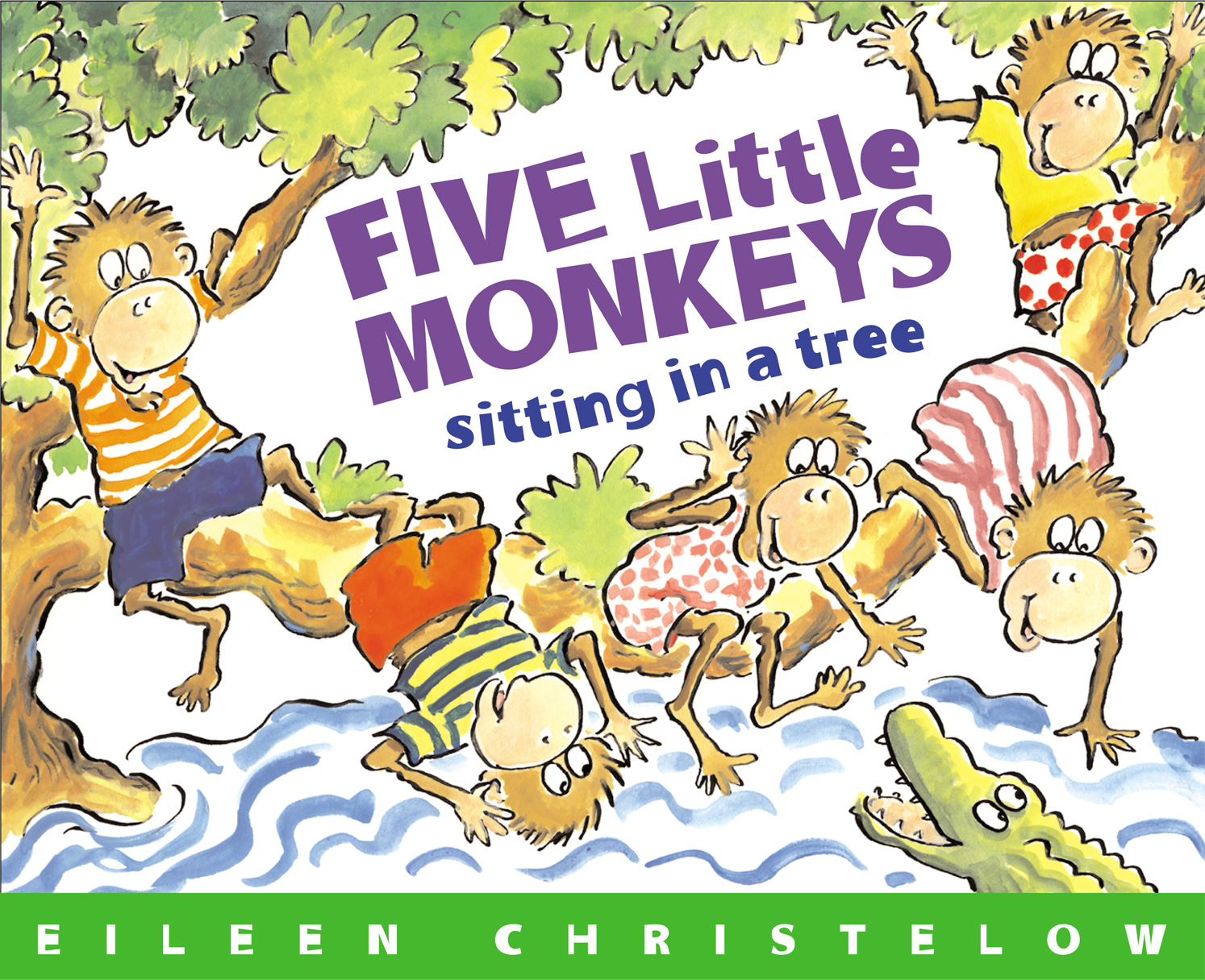 Five Little Monkeys Sitting in a Tree-9780544083530