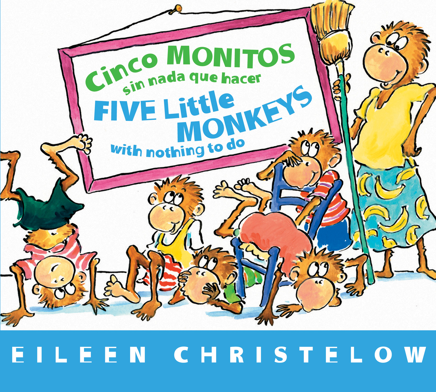 Cinco monitos sin nada que hacer / Five Little Monkeys With Nothing to Do-9780544088894