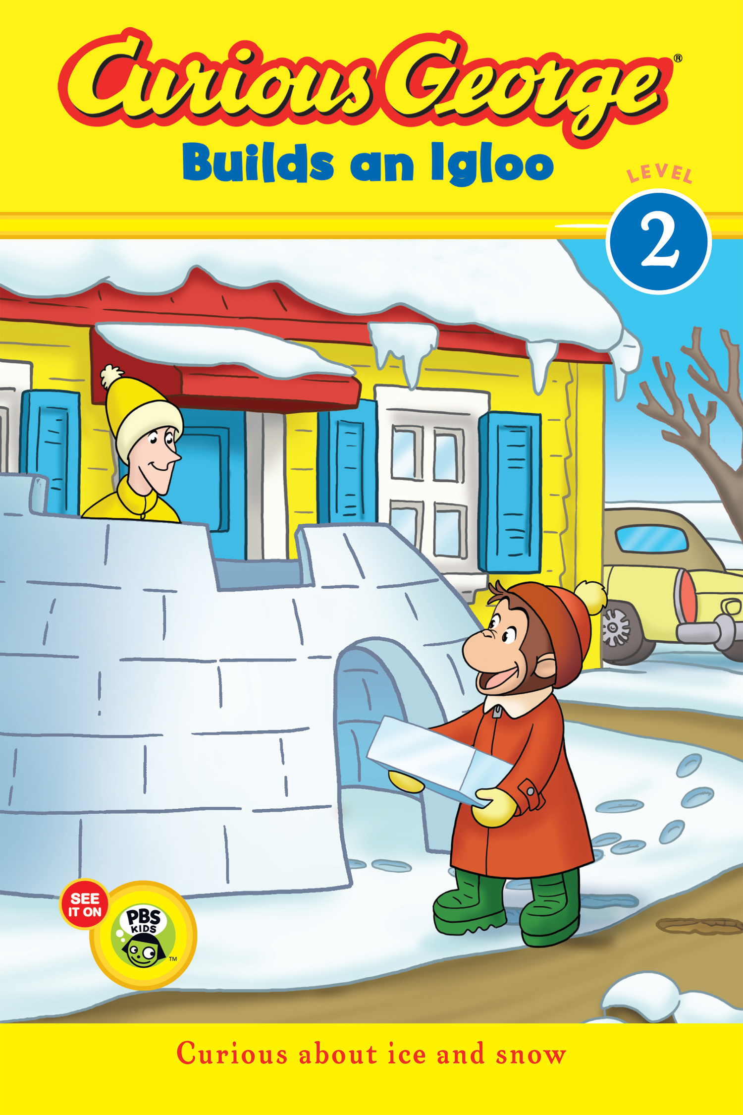 Curious George Builds an Igloo (CGTV reader)-9780544095700