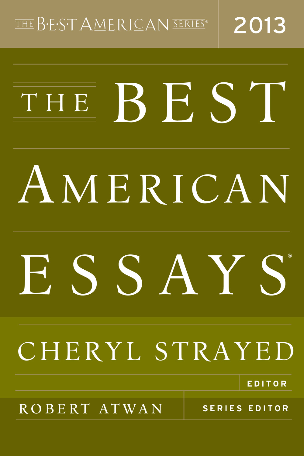 The Best American Essays 2013-9780544103887