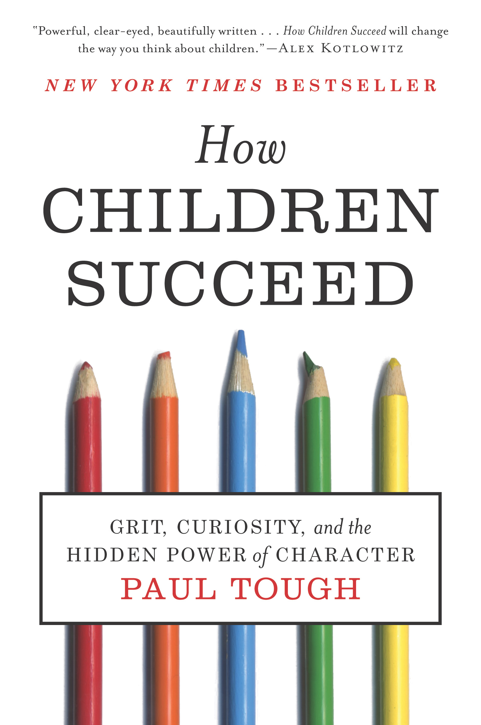 How Children Succeed-9780544104402
