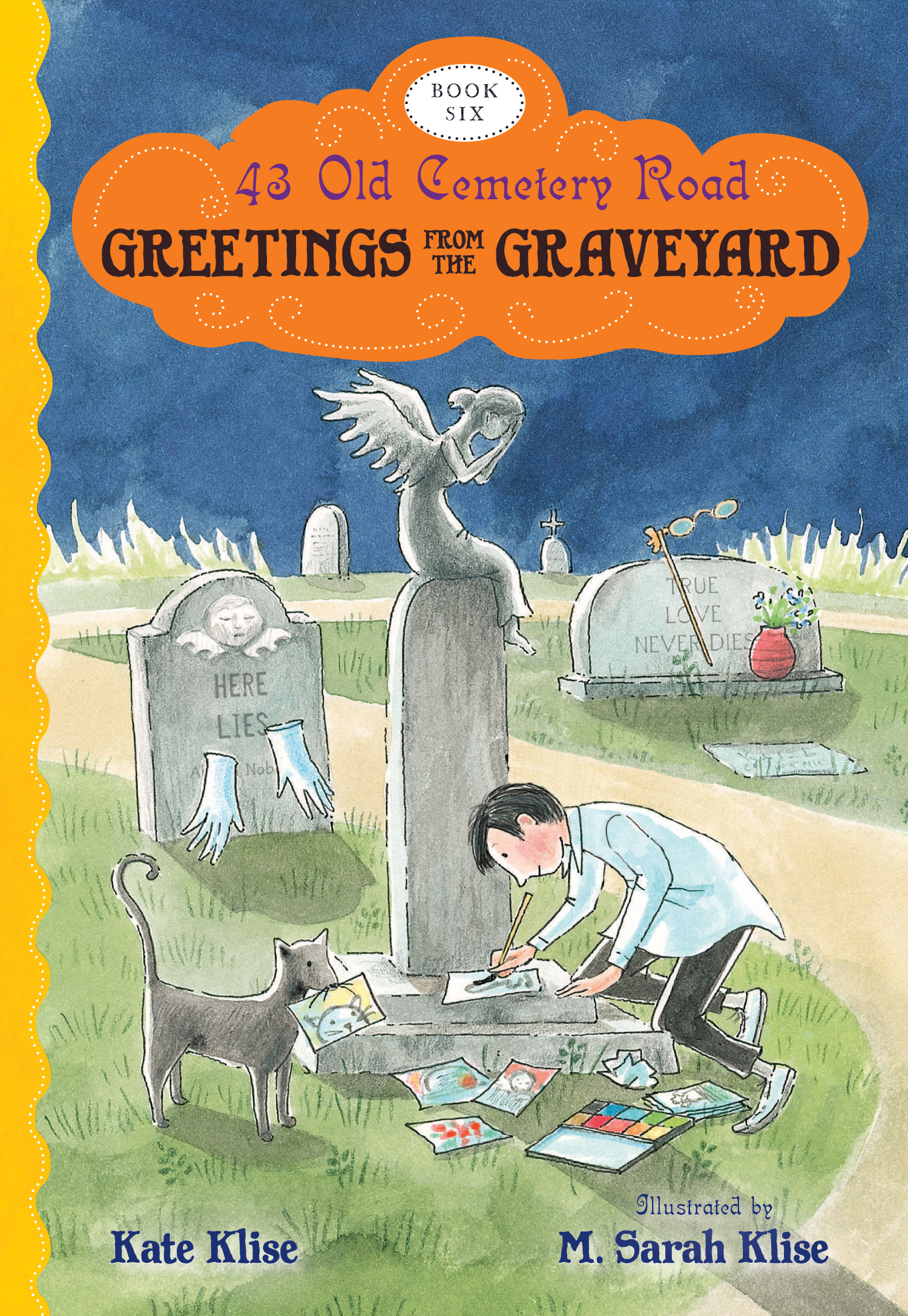 Greetings from the Graveyard-9780544105676