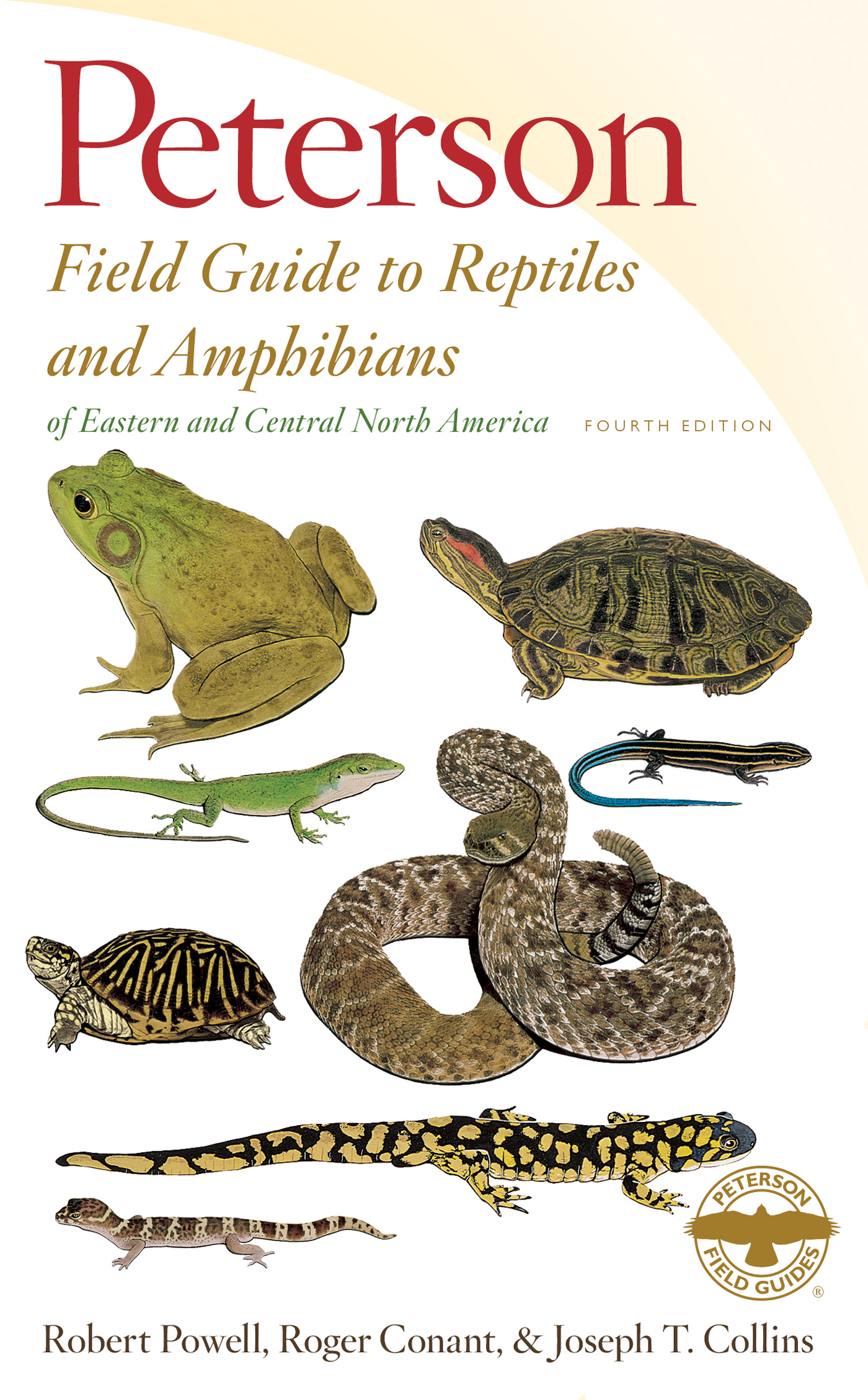 Peterson Field Guide to Reptiles and Amphibians of Eastern and Central North America, Fourth Edition-9780544129979