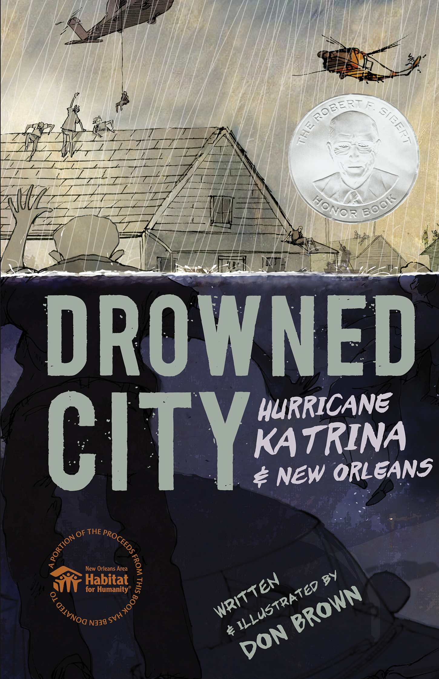 Drowned City-9780544157774