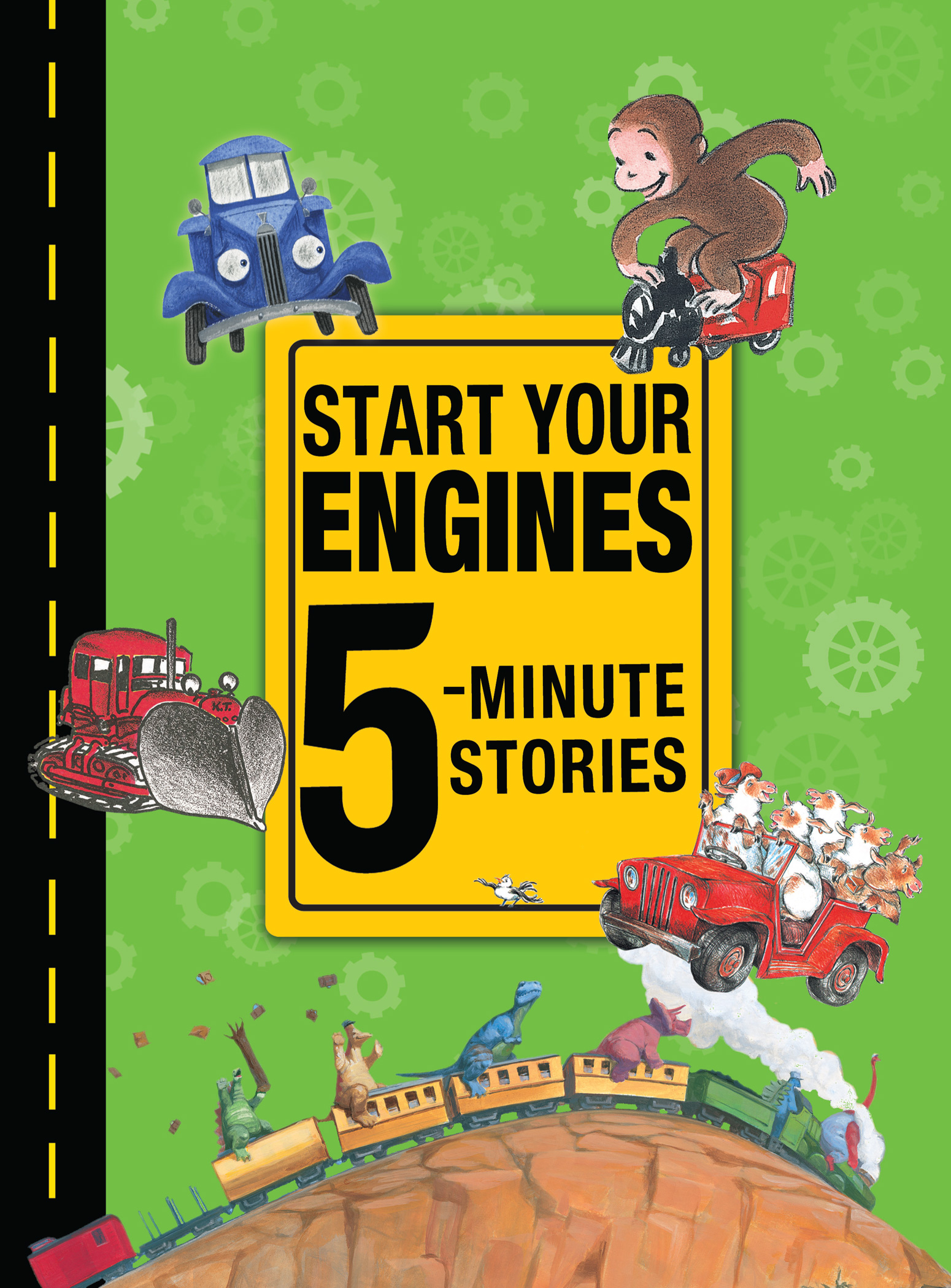 Start Your Engines 5-Minute Stories-9780544158818
