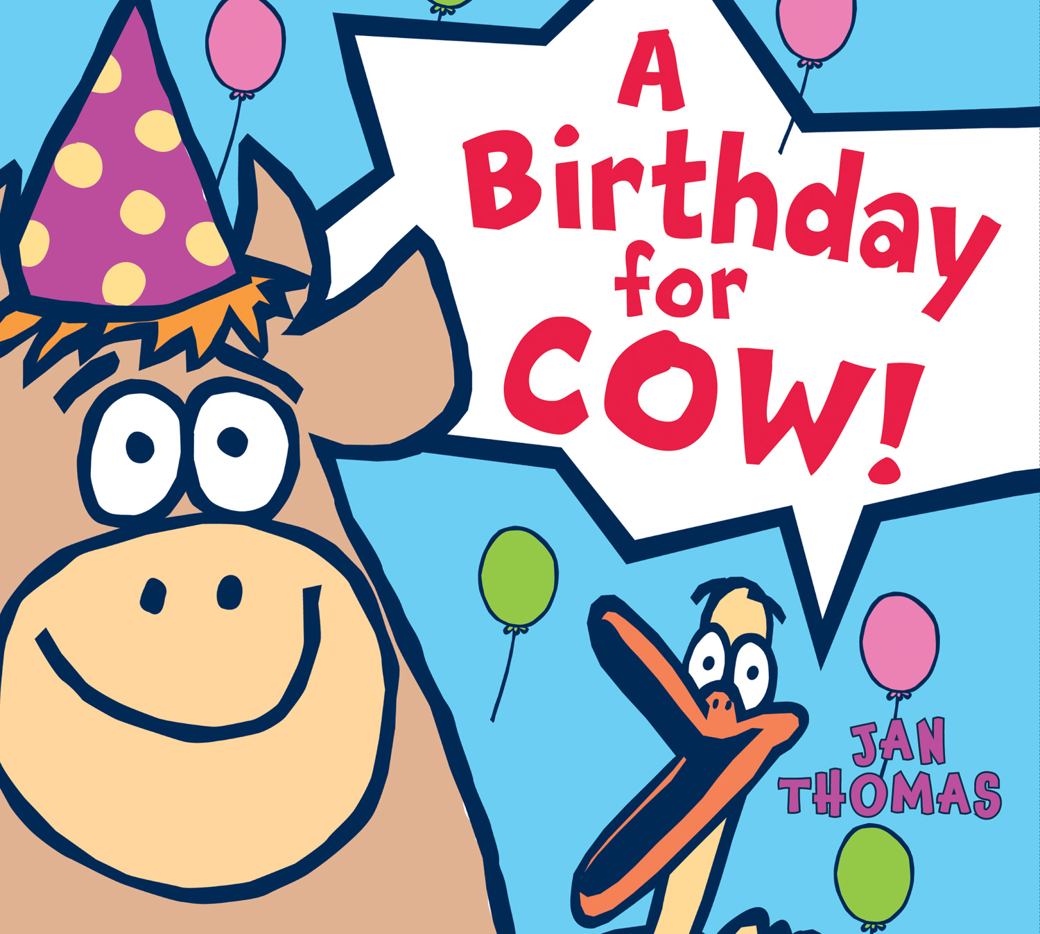 A Birthday for Cow! (board book)-9780544174245