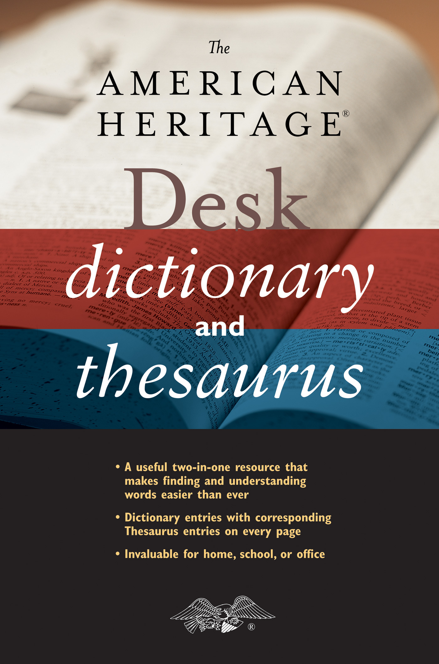 The American Heritage Desk Dictionary and Thesaurus-9780544176188